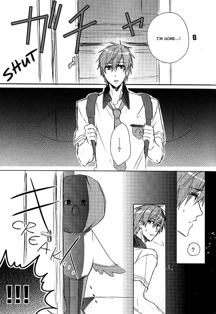 [Bart!! (Sasami, Hatsumi)] Fueee! Rameee! Iwatobi-chan!! | Noooo, Iwatobi-chan, Don't! (Free!) [English] {September Scanlations} 1