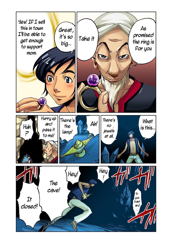 [Pirontan] Otona no Douwa ~Aladin to Mahou no Lamp | Adult Fairy Tale ~ Aladdin And The Magic Lamp [English] [Bojownicy Pokoju] 3