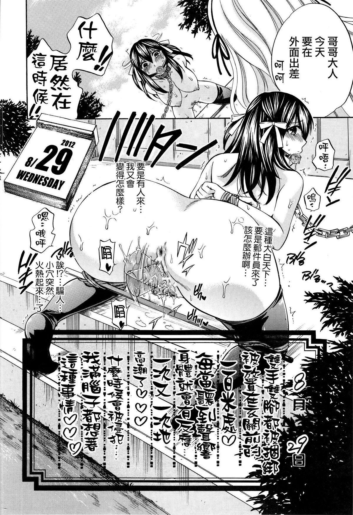 Hachigatu, Kanojo wa Uso wo tsuku. 195