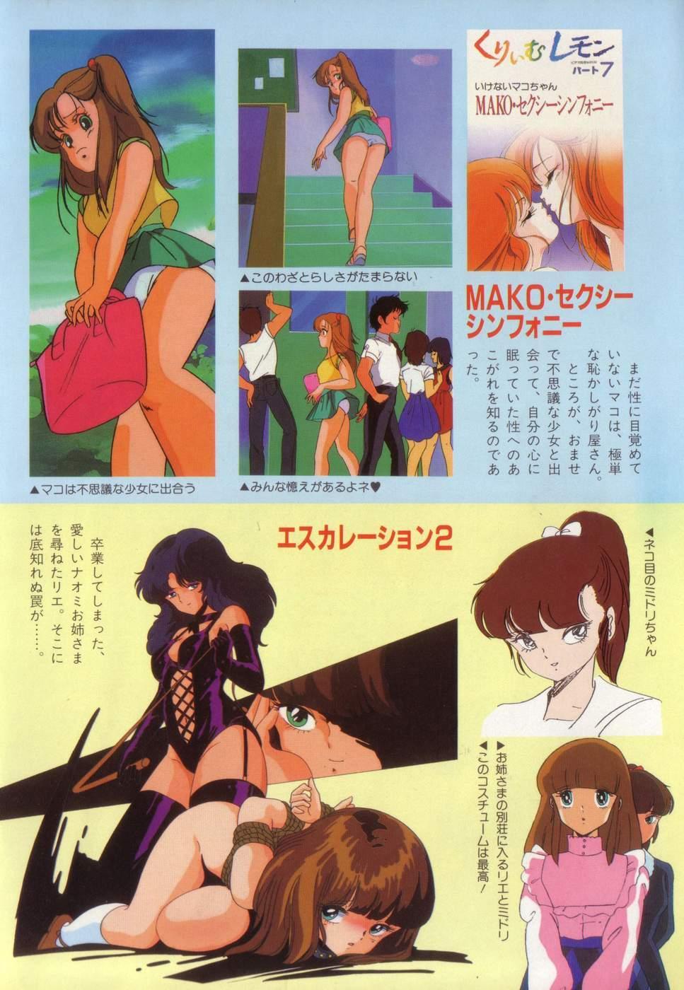 COMIC Lolipop 1985-10 Soukanjunbigou Aki 115