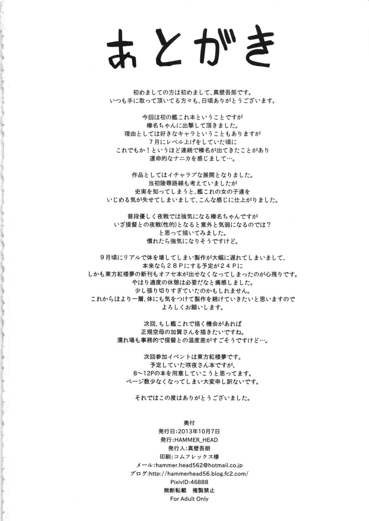 Haruna to Yasen Kaishi! 20