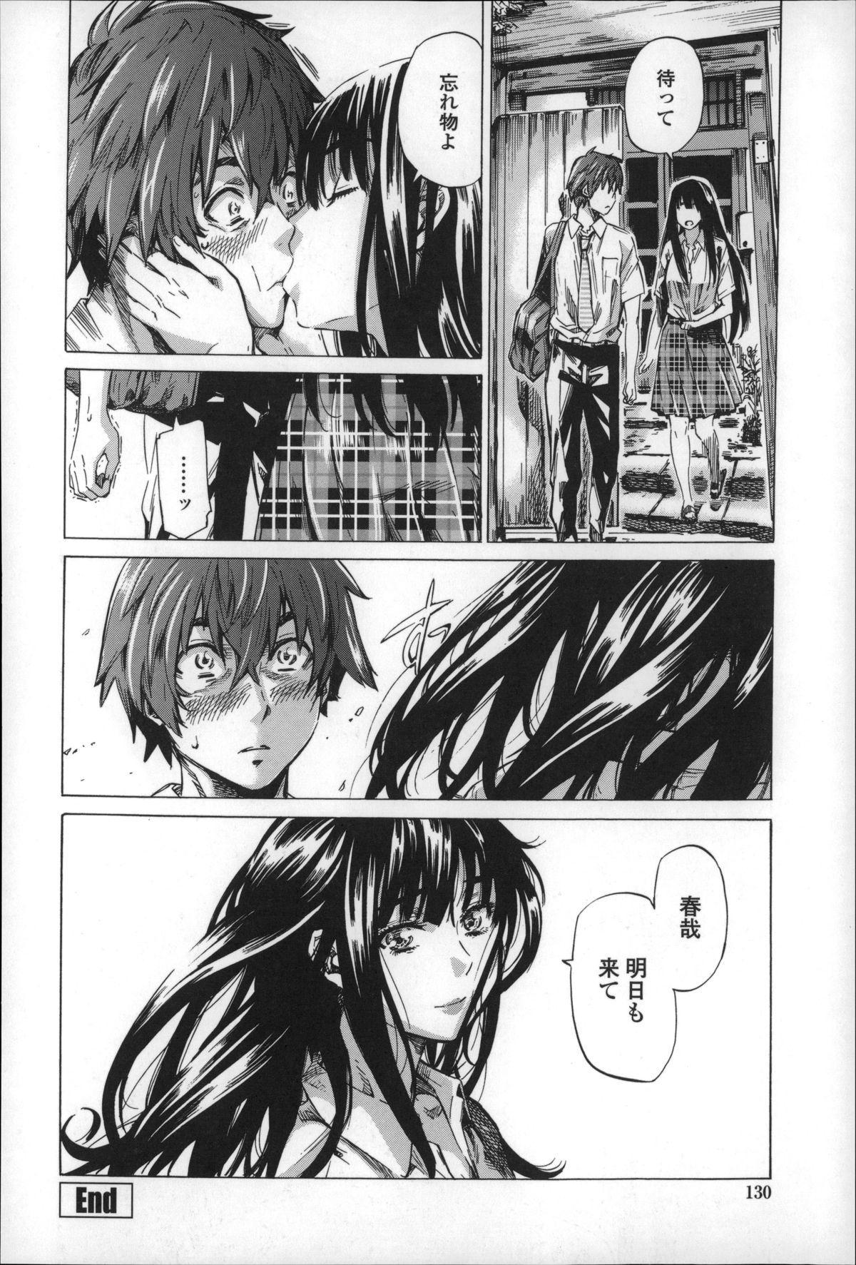 Choushin de Mukuchi no Kanojo ga Hatsujou Shite Kitara Eroiyo ne? 129