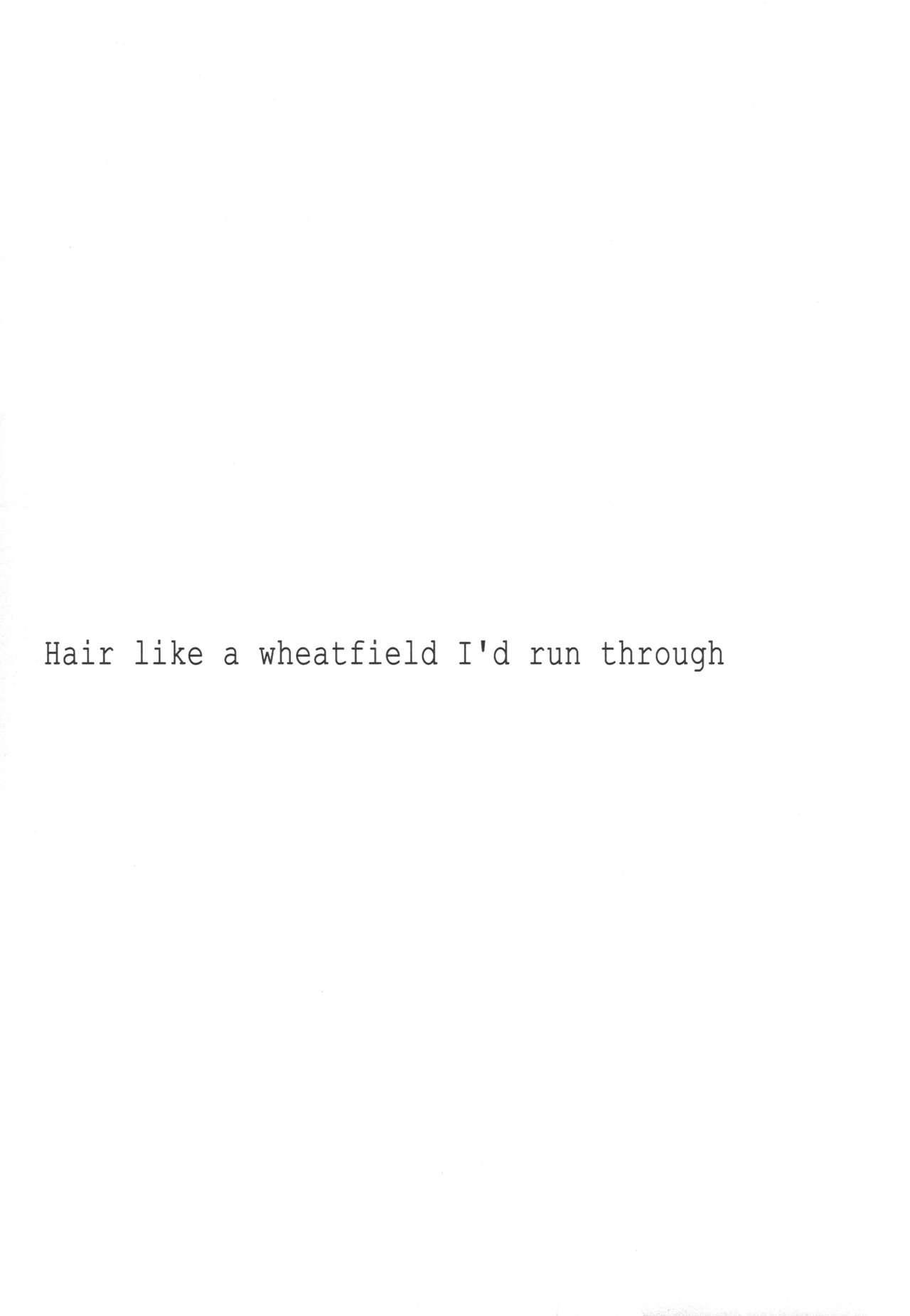 Taiyou o Tsukandeshimatta - Hair Like a Wheatfield I'd Run Through 3
