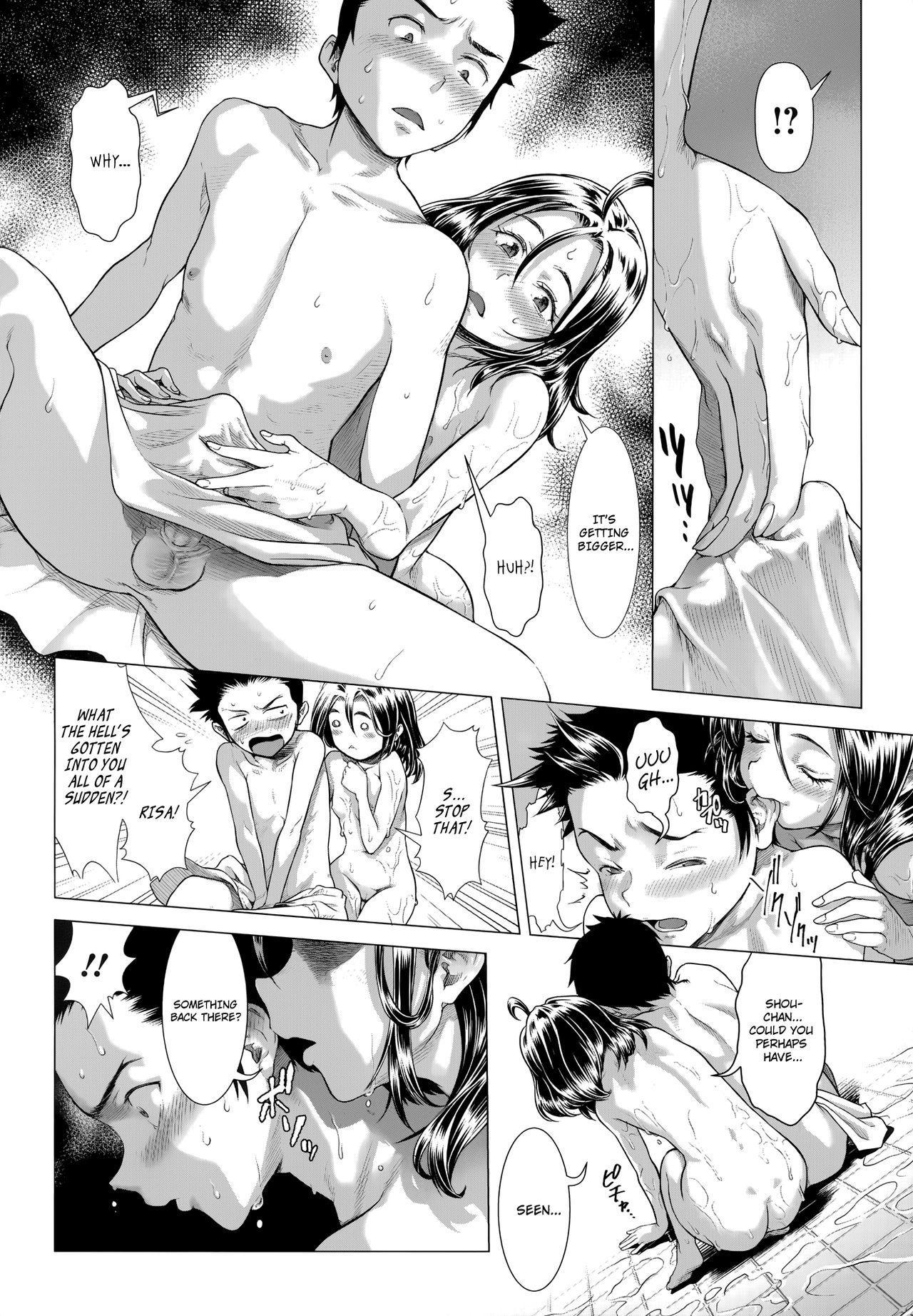 [Sannyuutei Shinta] Chinpotsuki Ijimerarekko | «Dickgirl!», The Bullying Story - Ch. 1-4 [English] [34th squad] 75
