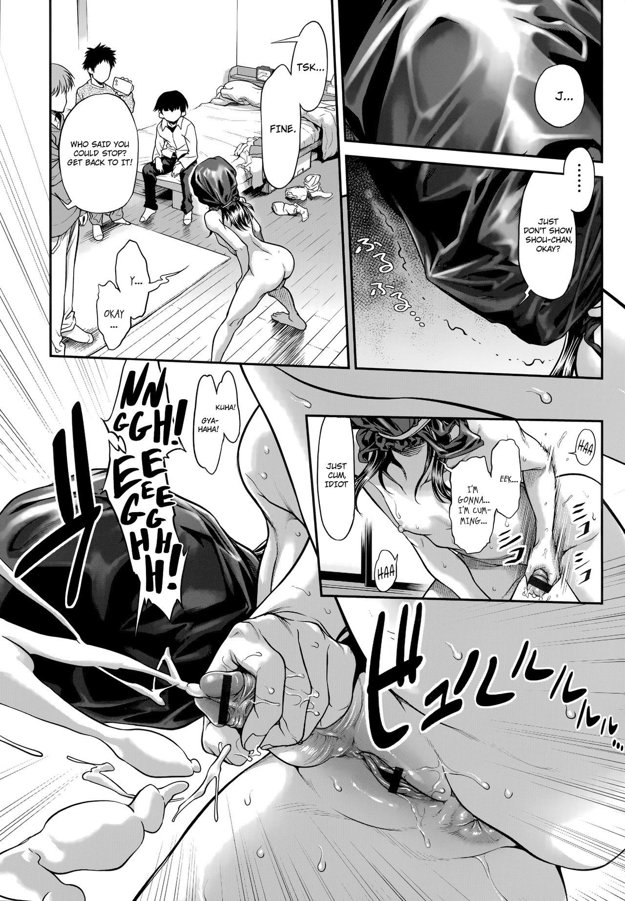 [Sannyuutei Shinta] Chinpotsuki Ijimerarekko | «Dickgirl!», The Bullying Story - Ch. 1-4 [English] [34th squad] 80
