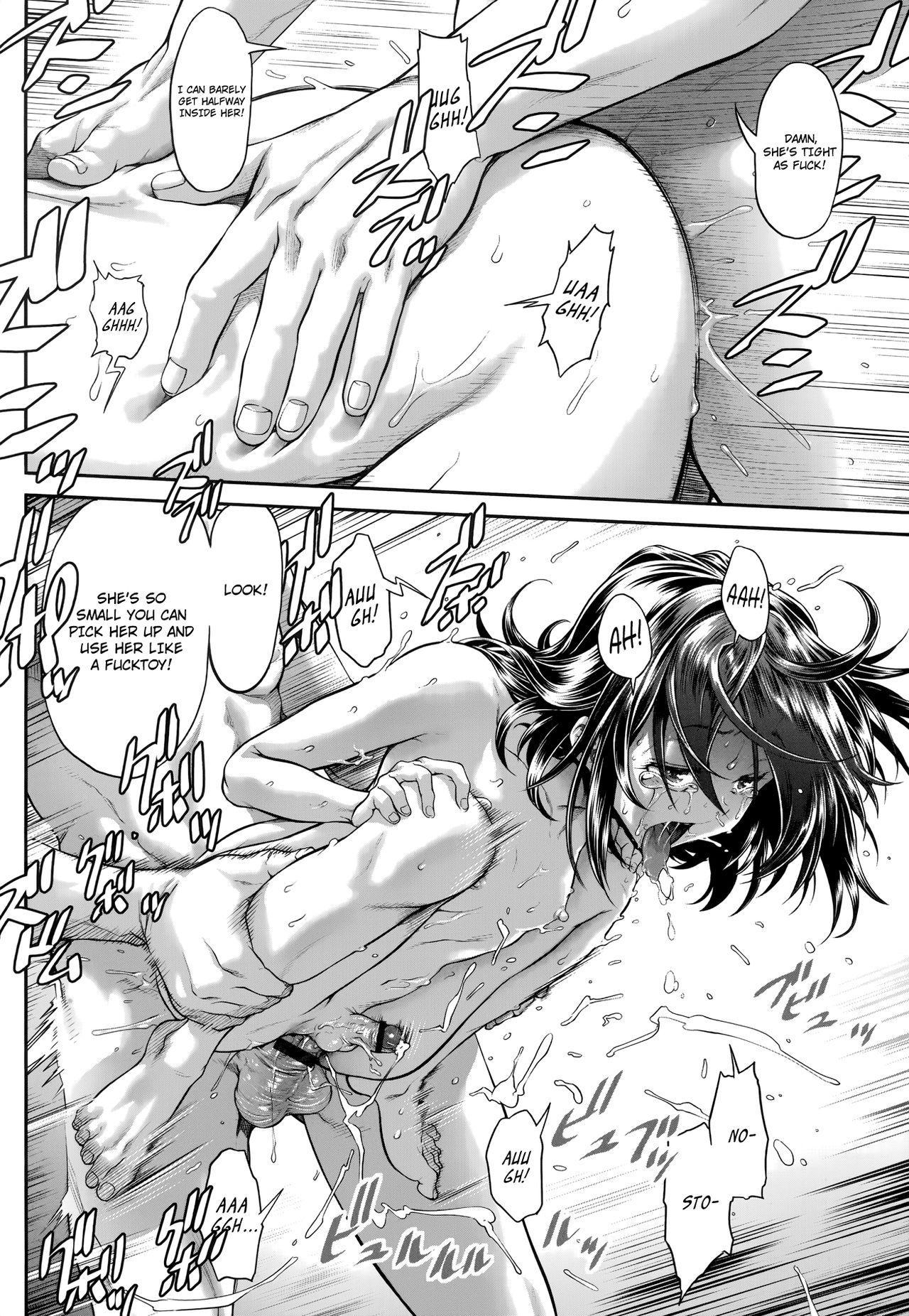[Sannyuutei Shinta] Chinpotsuki Ijimerarekko | «Dickgirl!», The Bullying Story - Ch. 1-4 [English] [34th squad] 85