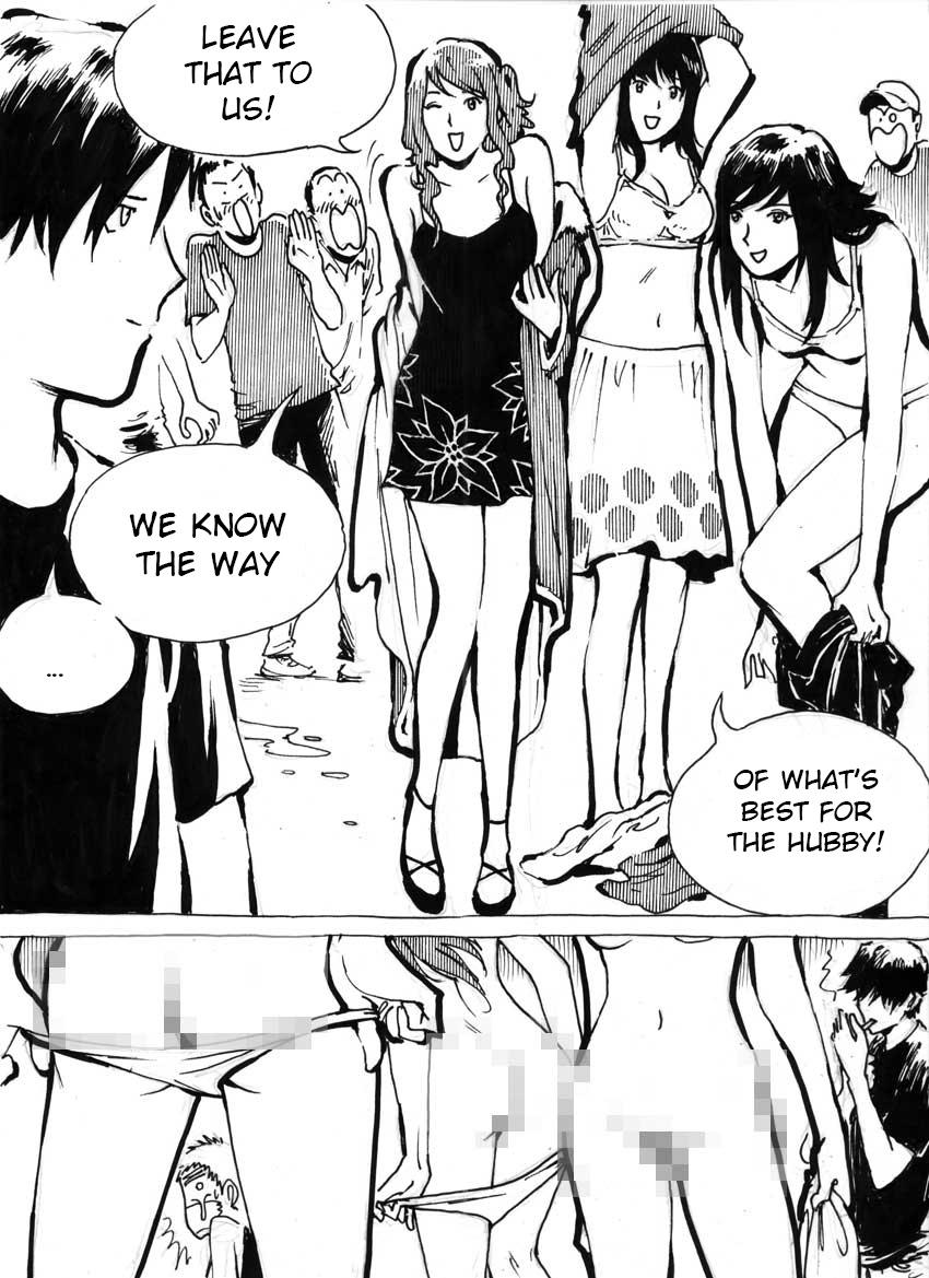 My Wife's Gangrape Fantasy Chapter 5 9