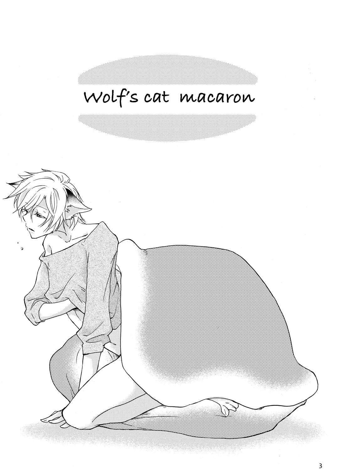 WOLF'S CAT Macaron: 1