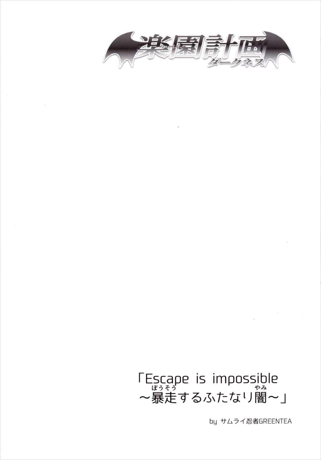 "(C90) [Samurai Ninja GREENTEA (Samurai Ninja GREENTEA)] Harem Keikaku Darkness ""Escape is impossible ~Bousou suru Futanari Yami~"" (To LOVE-Ru) [Chinese] 2"