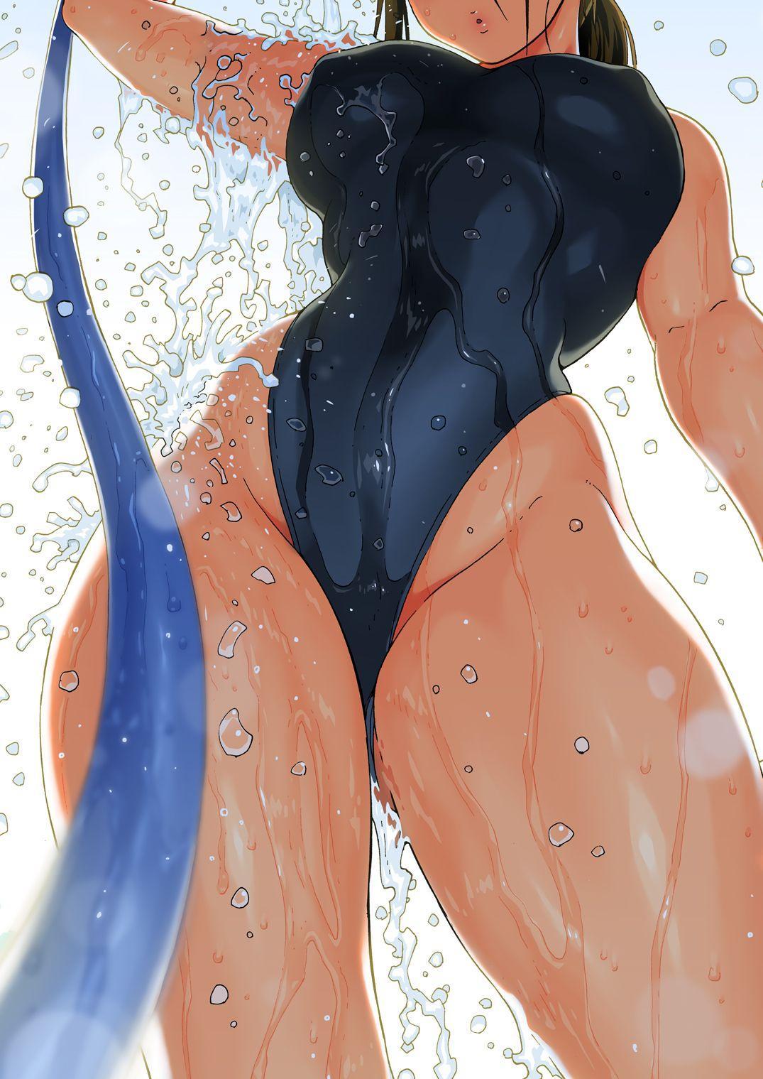 [Amazake Hatosyo-ten (Yoshu Ohepe)] Aah~ Hayaku H Shitai!! (Kana-san wa Pool no Kanshiin) | I Wanna Do Dirty Stuff Already! (Kana, the Pool Lifeguard) [English] [Rotoscopic] [Digital] 19