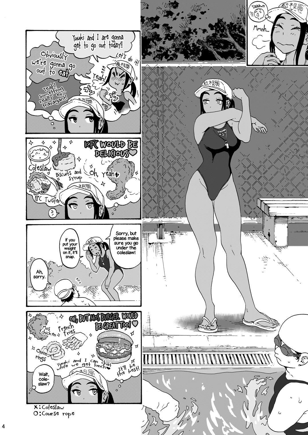 [Amazake Hatosyo-ten (Yoshu Ohepe)] Aah~ Hayaku H Shitai!! (Kana-san wa Pool no Kanshiin) | I Wanna Do Dirty Stuff Already! (Kana, the Pool Lifeguard) [English] [Rotoscopic] [Digital] 3