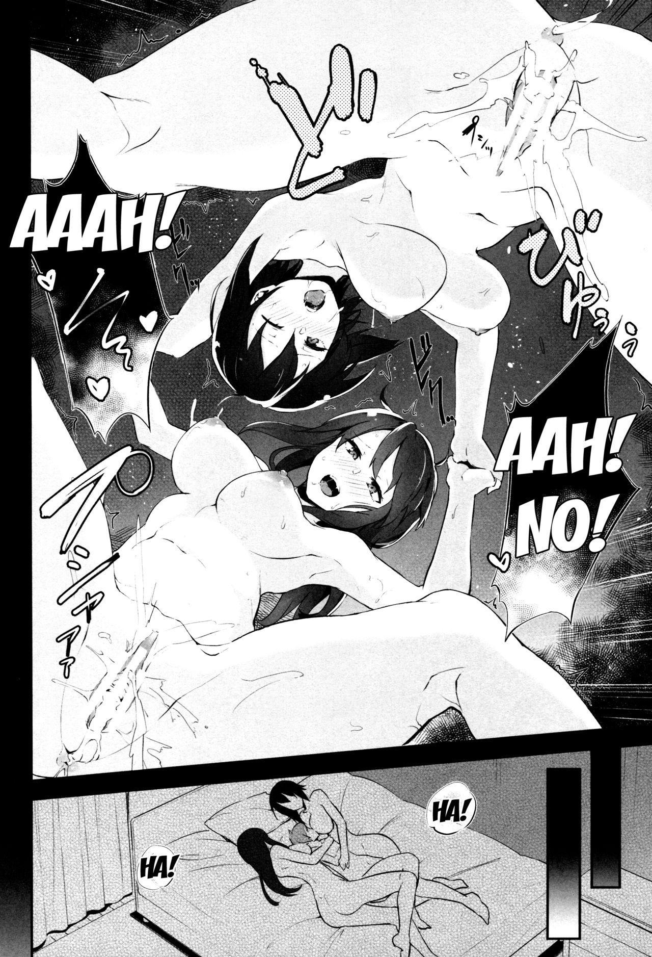 (C92) [Soda Batake (Muteki Soda)] Maho Mika Onee-san to Midara na Senshadou | Maho Mika Onee-san And The Lewd Tank Path (Girls und Panzer) [English] [Doujins.com] 17