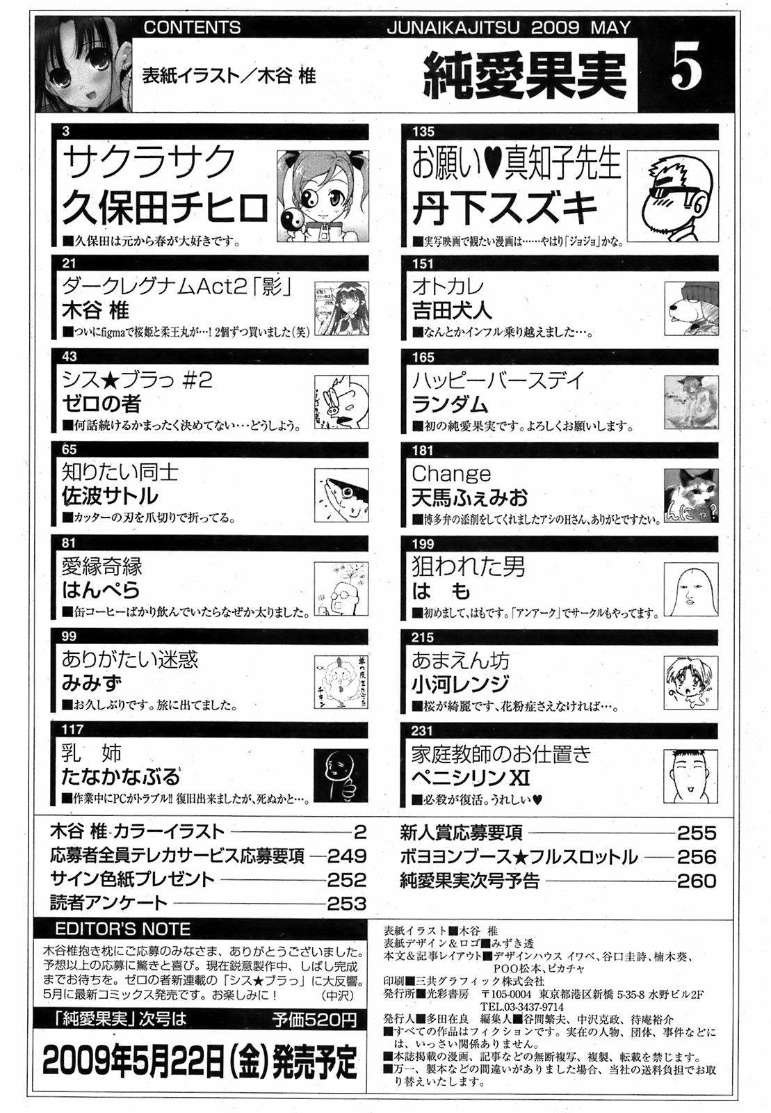 Jun-ai Kajitsu 2009-05 262