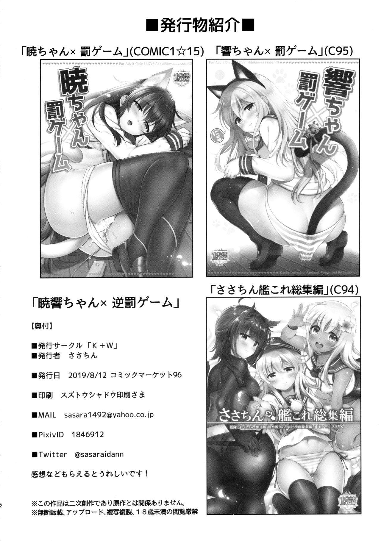 Akatsuki Hibiki-chan x Gyaku Batsu Game 20