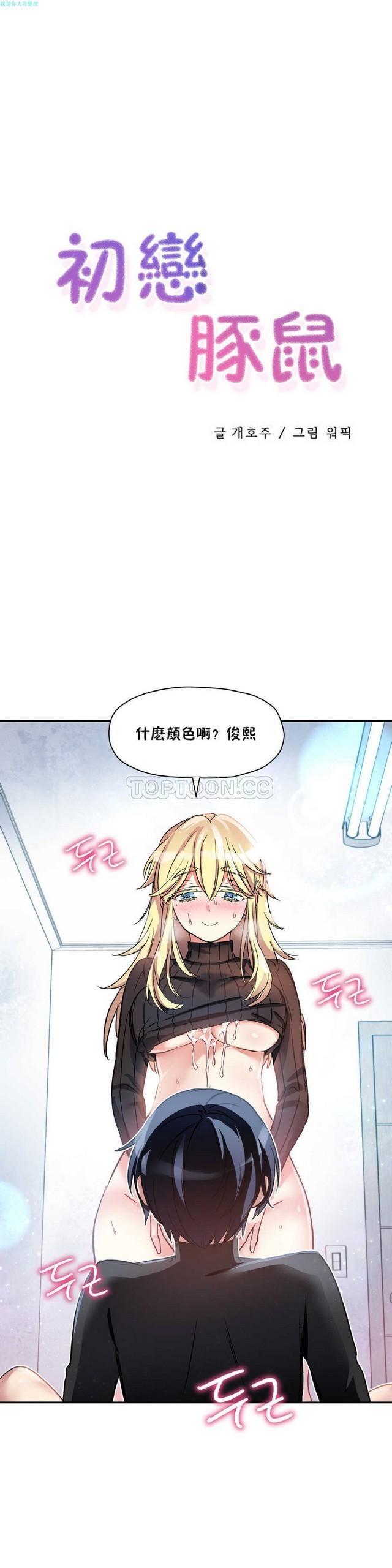 中文韩漫 初恋豚鼠 ch.11-34 42