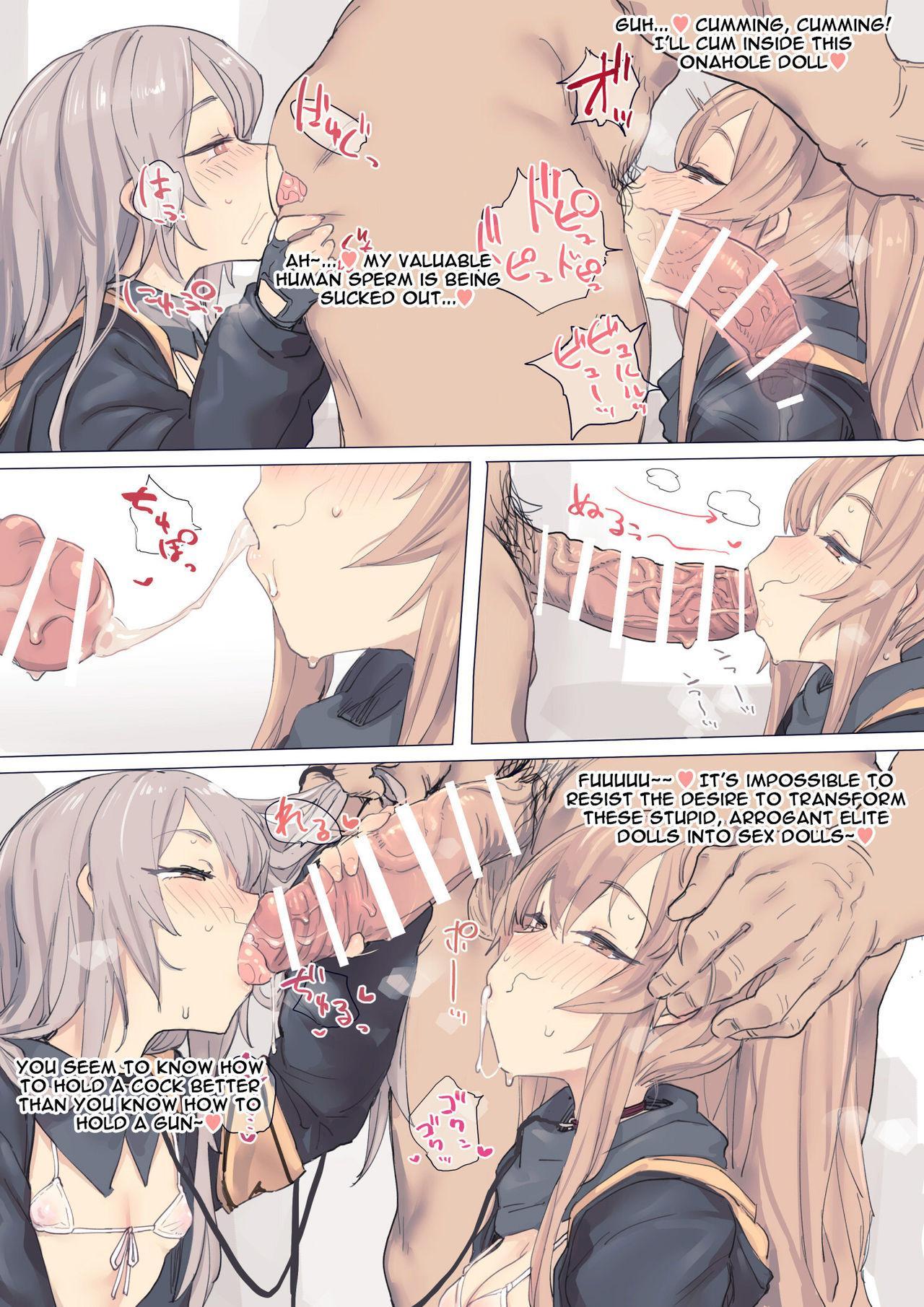 Kokkoro-chan & Girl's frontline 7