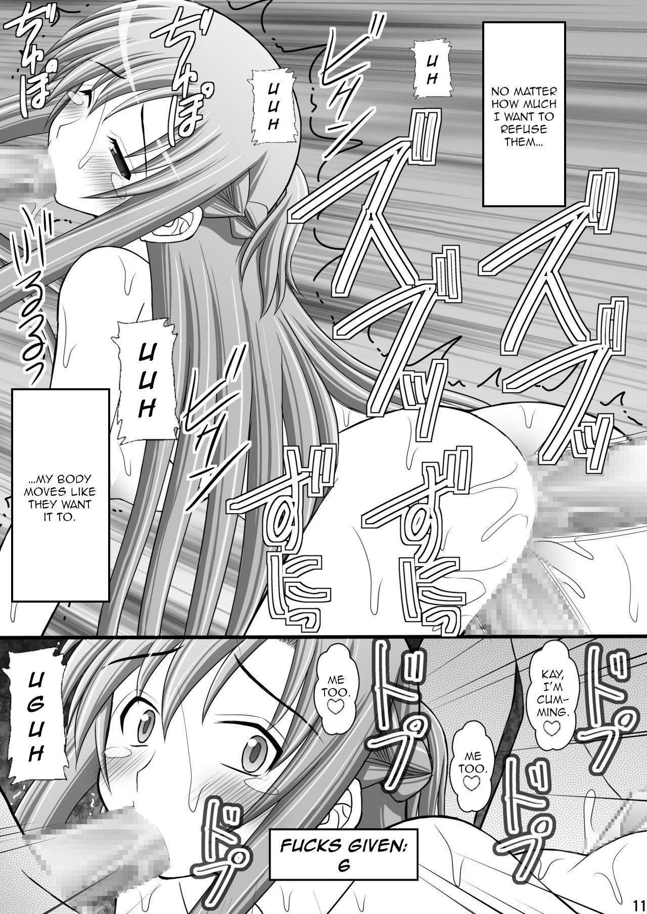[Asanoya (Kittsu)] Toraware Hime III - Asuna Nakadashi 100-nin Dekiru ka na   Hostage Princess III (Sword Art Online) [English] [HypnoMangaEditor] [Digital] 9