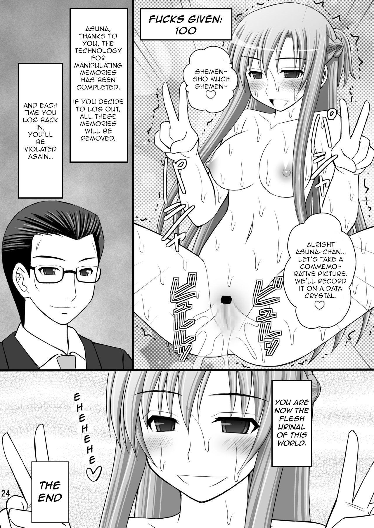[Asanoya (Kittsu)] Toraware Hime III - Asuna Nakadashi 100-nin Dekiru ka na   Hostage Princess III (Sword Art Online) [English] [HypnoMangaEditor] [Digital] 22