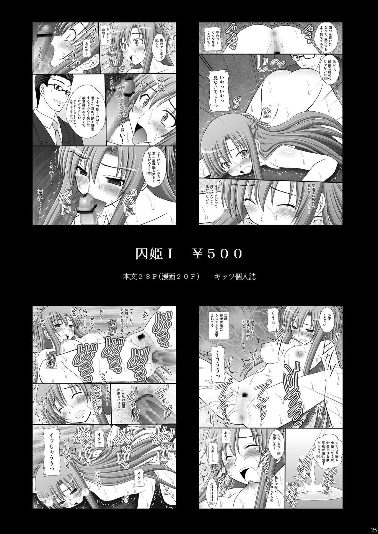 [Asanoya (Kittsu)] Toraware Hime III - Asuna Nakadashi 100-nin Dekiru ka na   Hostage Princess III (Sword Art Online) [English] [HypnoMangaEditor] [Digital] 23
