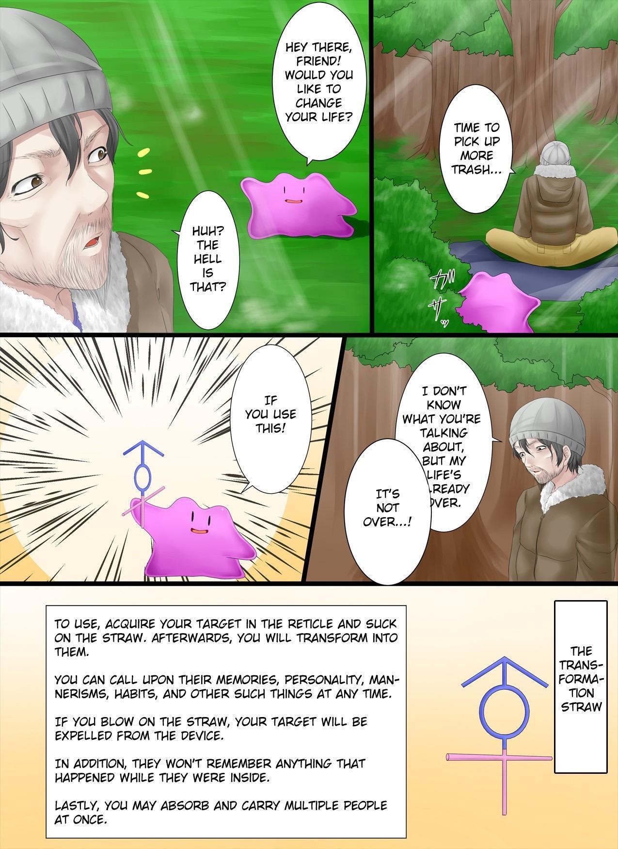 Henshin Straw | Transformation Straw 2