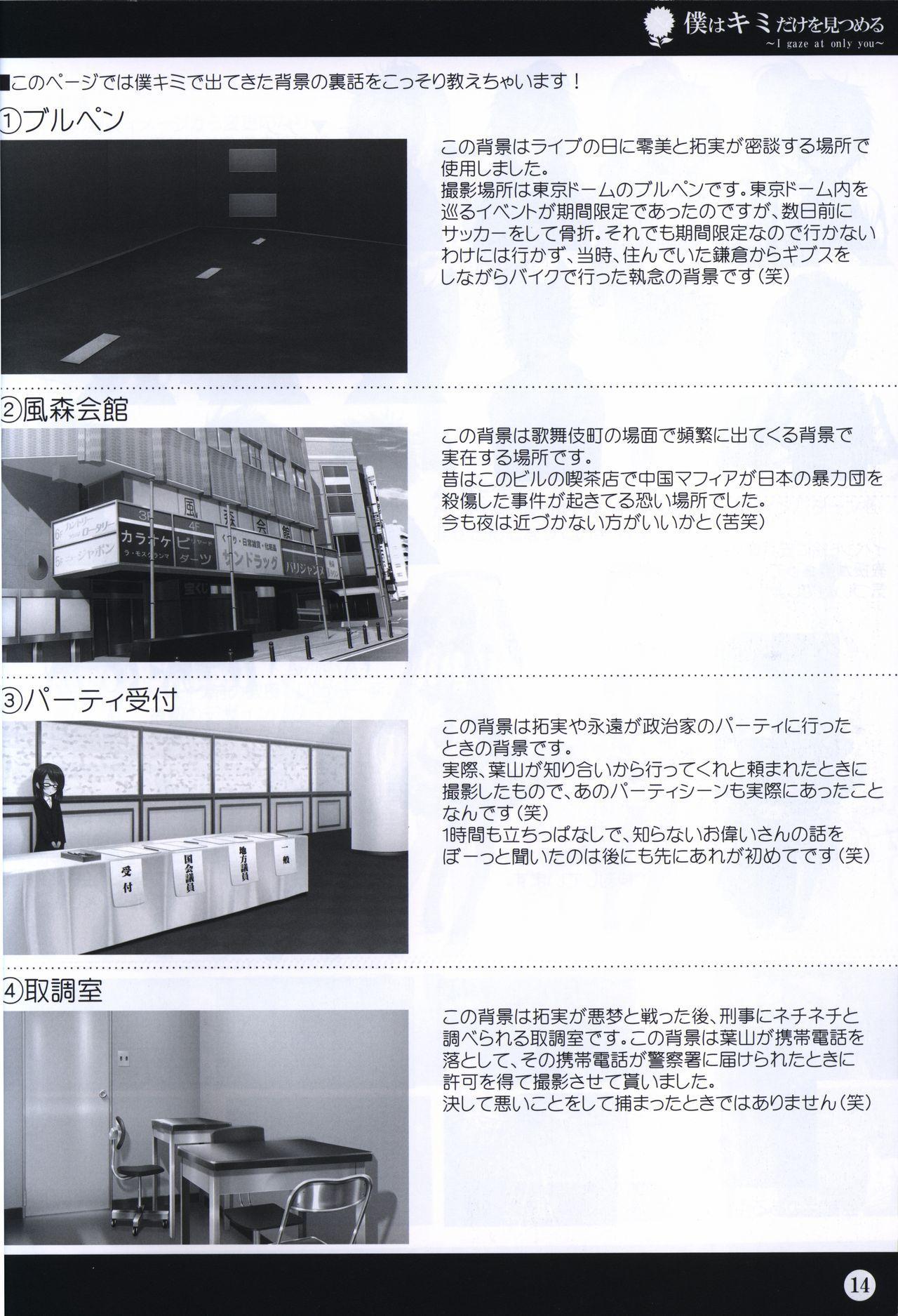Boku wa Kimi Dake o Mitsumeru art collection 2 13