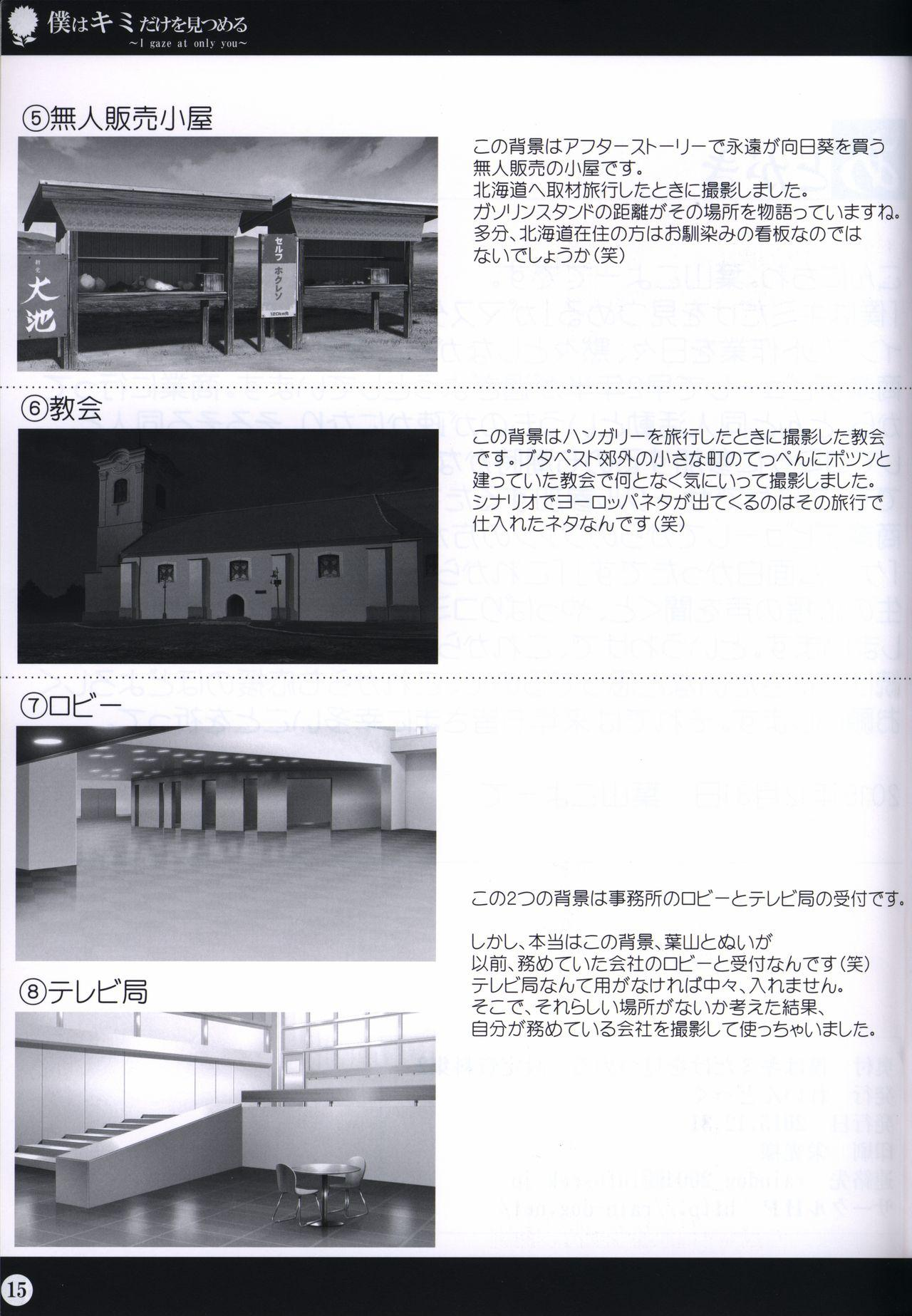 Boku wa Kimi Dake o Mitsumeru art collection 2 14
