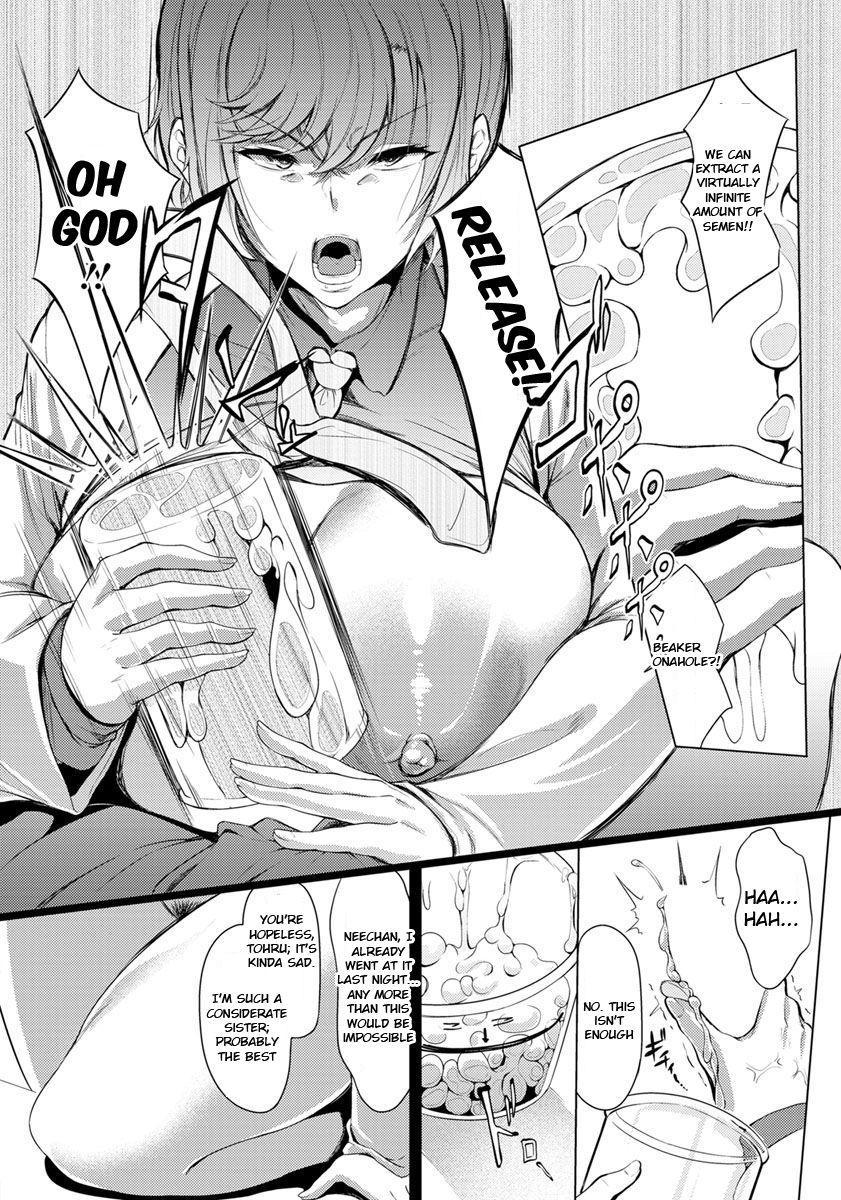 [Nusmusbim] Kuuruna Ane wa Posokoshi Kenkyuuin!! - My Cool Elder Sister Is a Worn-out Article Boffin!! (ANGEL CLUB 2019-11) [English] [SakuLENS] [Digital] 7
