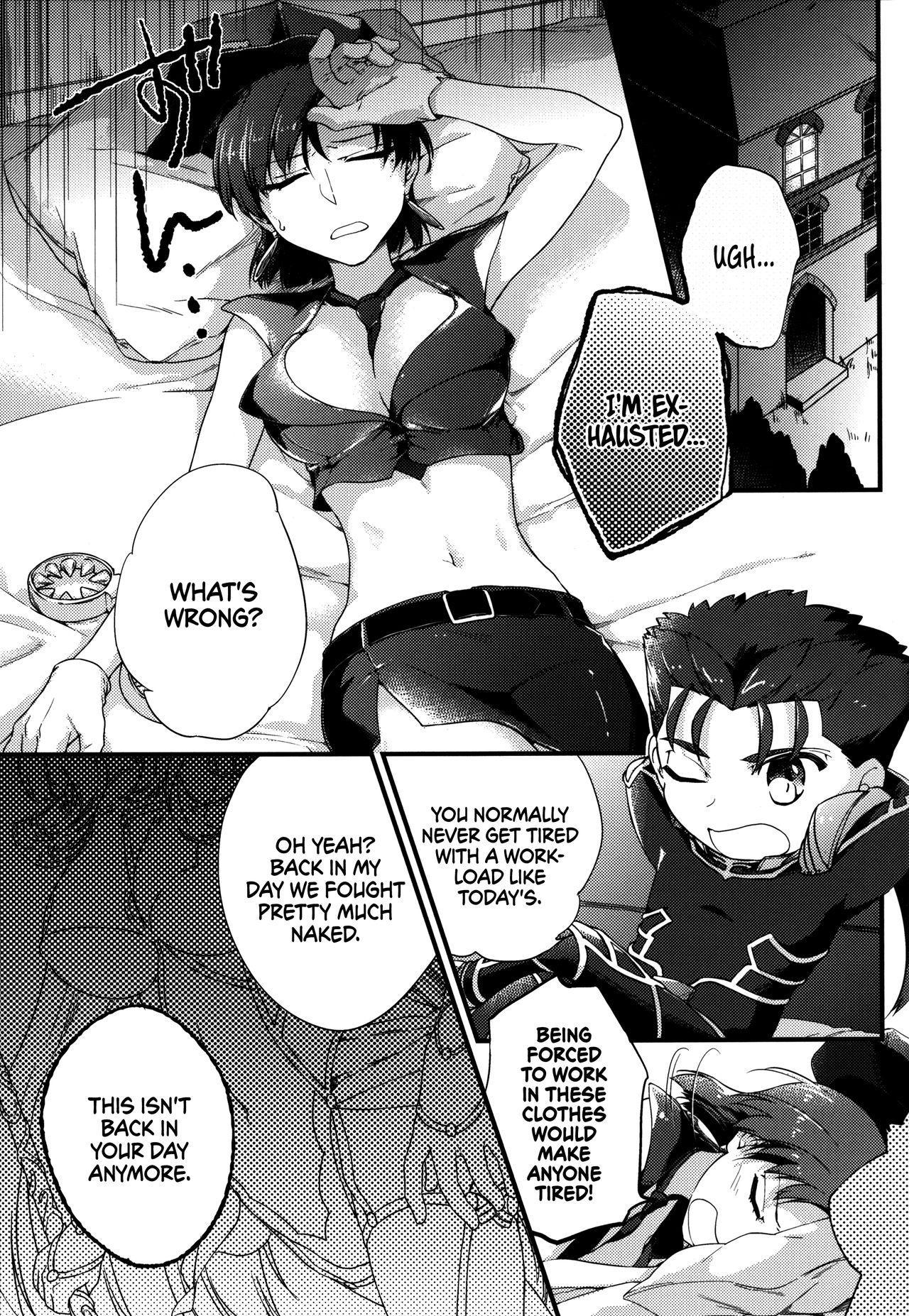 (C90) [Gokutsubushi (Misoiri)] Chiisai Lancer ga Bazett-san node Ookiku Naru | Little Lancer turns huge because of Bazett-san (Fate/hollow Ataraxia) [English] [EHCOVE] 2