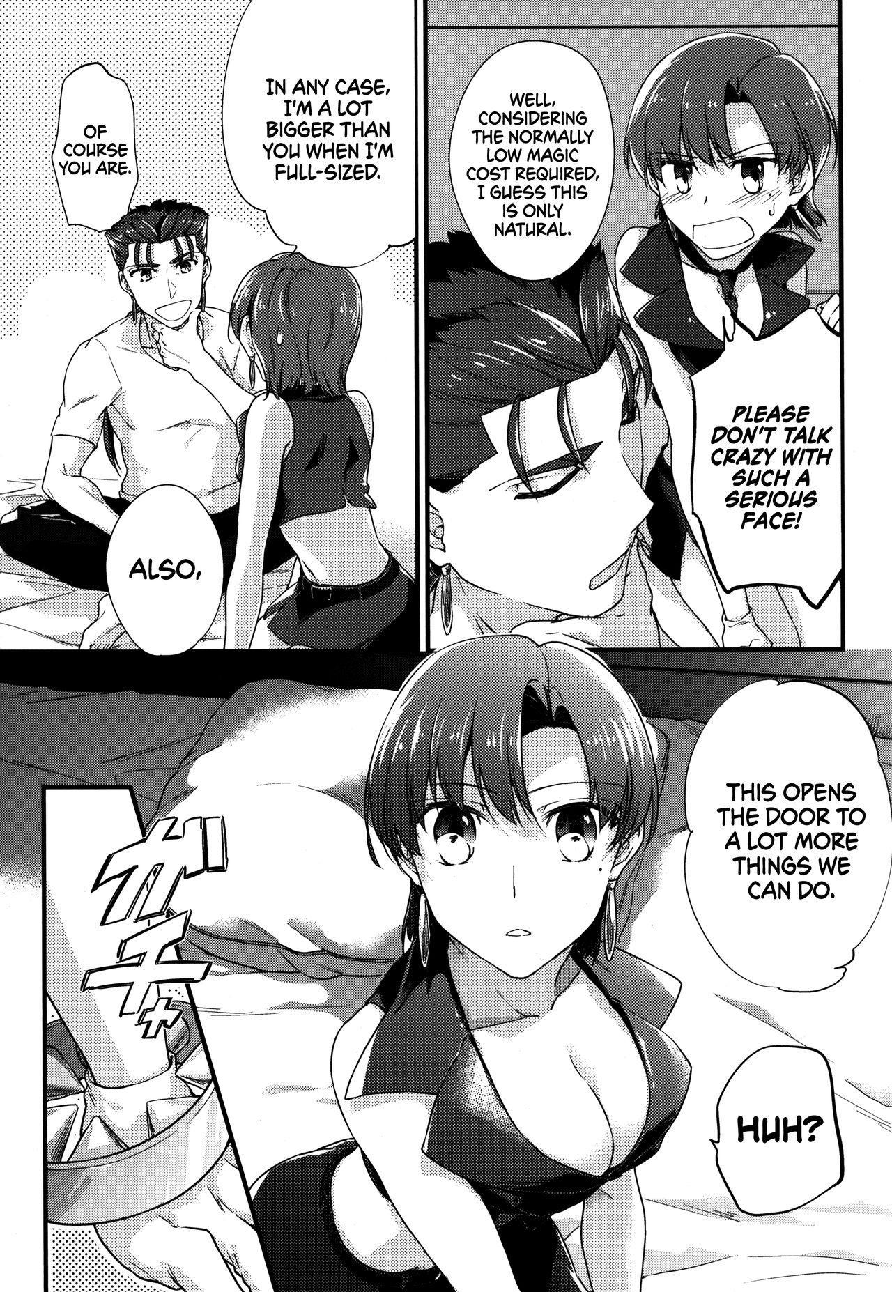 (C90) [Gokutsubushi (Misoiri)] Chiisai Lancer ga Bazett-san node Ookiku Naru | Little Lancer turns huge because of Bazett-san (Fate/hollow Ataraxia) [English] [EHCOVE] 6