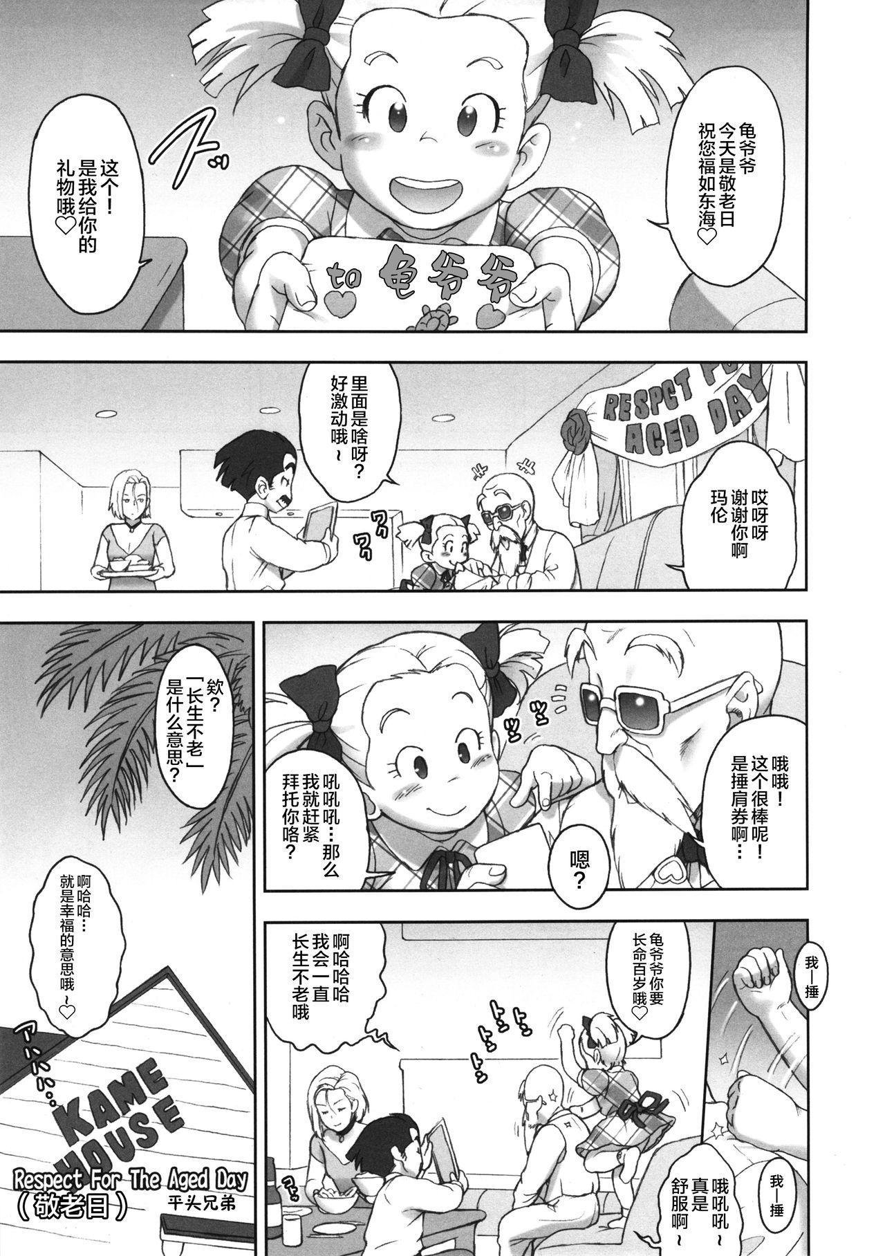 (C87) [Niku Ringo (Kakugari Kyoudai)] NIPPON HEAD-CHA-LA (Dragon Ball Z) [Chinese] [新桥月白日语社] 3