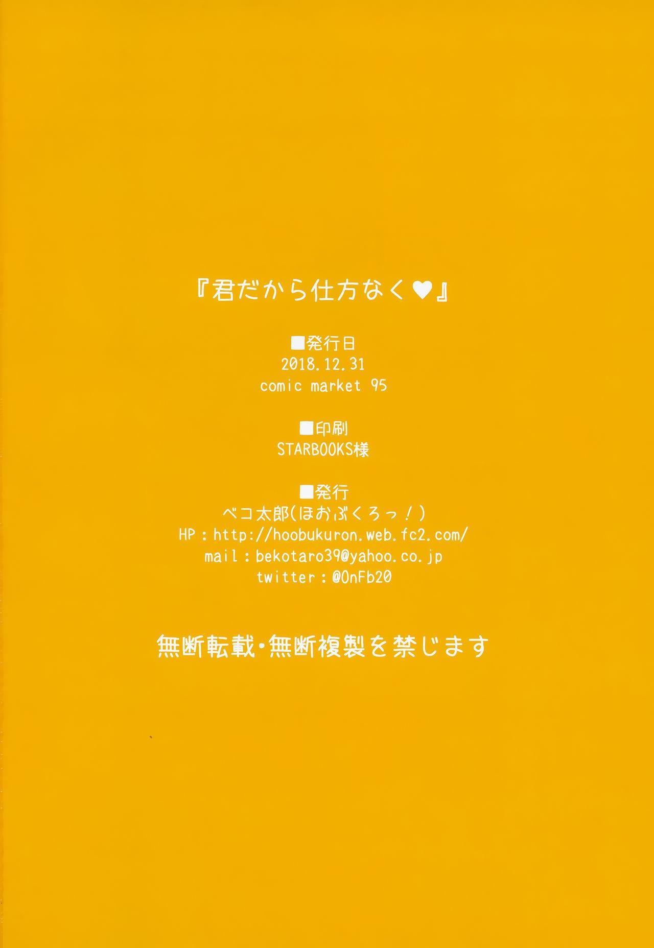 Kimi dakara Shikatanaku 12