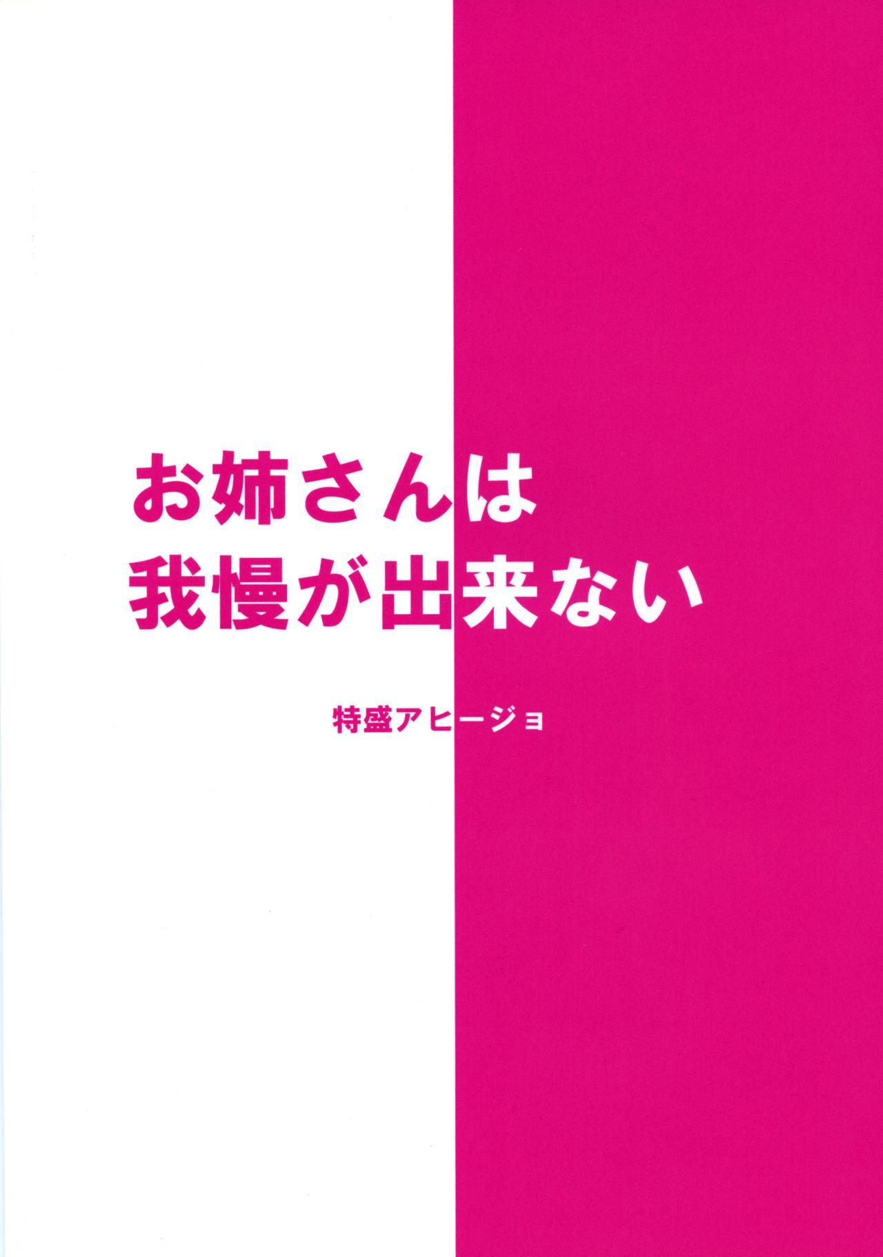 Onee-san wa Gaman ga Dekinai 20