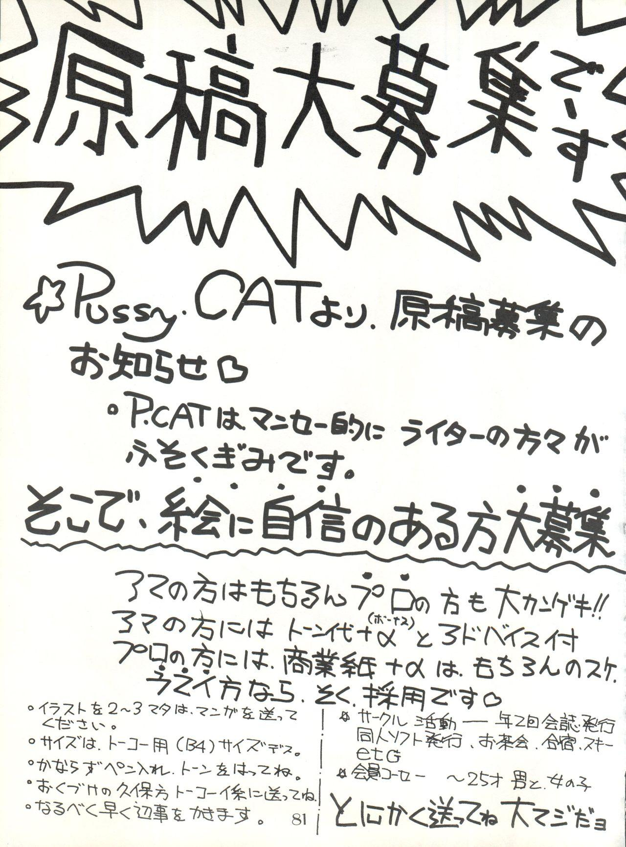 PUSSY CAT Vol. 20 Silent Mobius 86