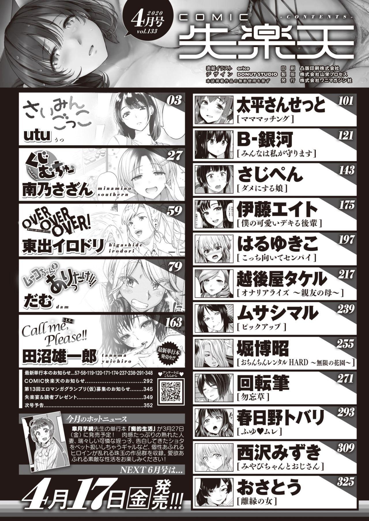 COMIC Shitsurakuten 2020-04 1