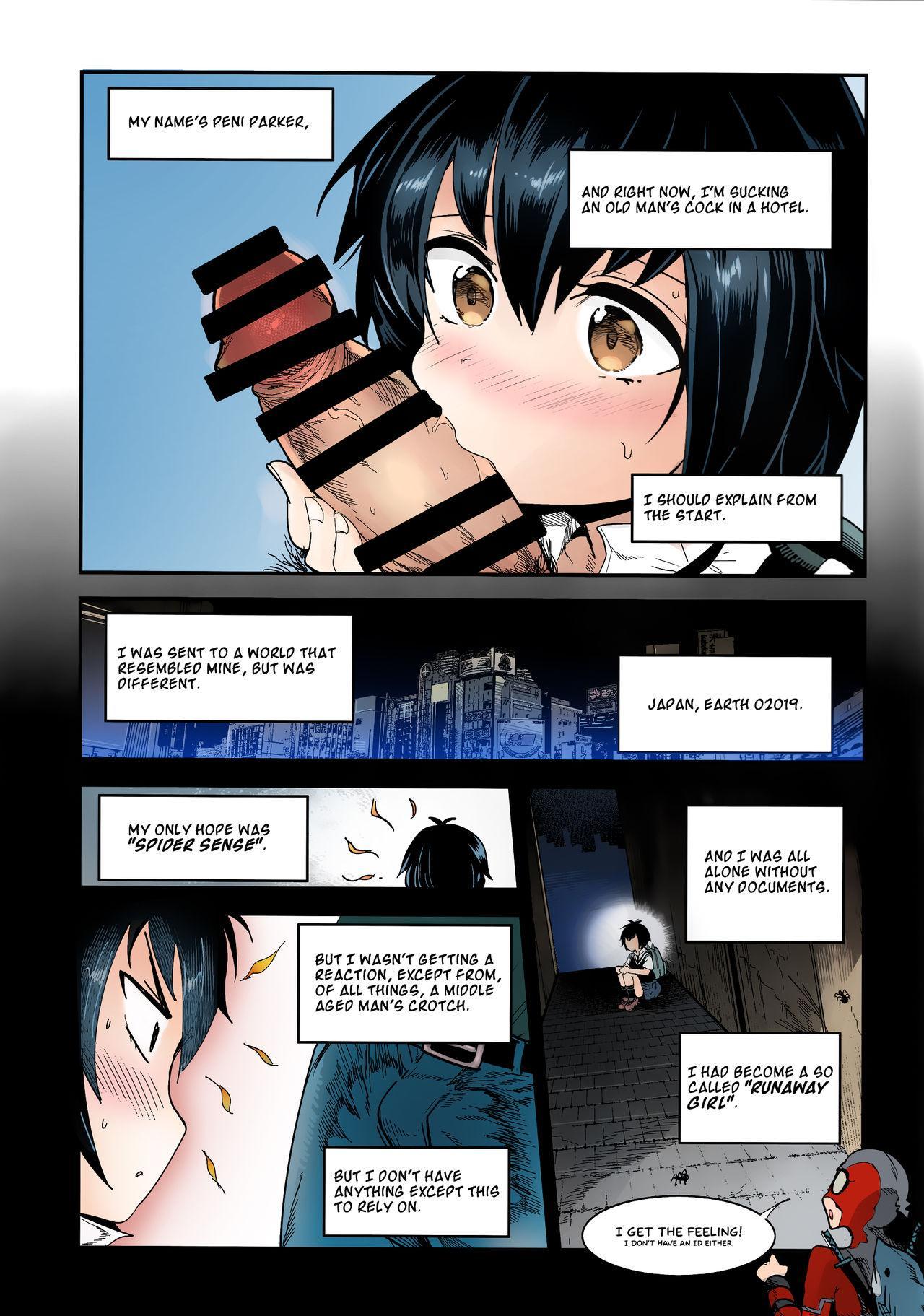 Peni Parker no Usui Hon ni wa Ooinaru Sekinin ga Tomonau   Peni Parker's Thin Book Comes with great Responsibility 5
