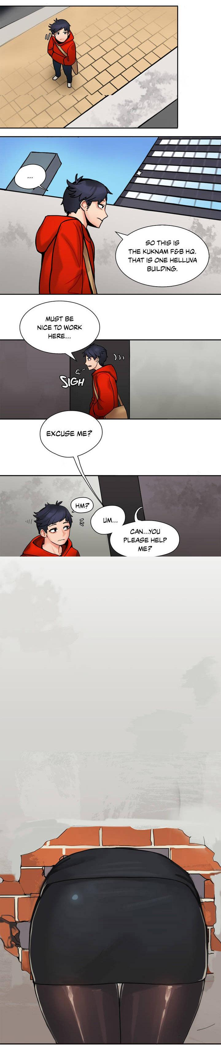 The Girl That Got Stuck in the Wall Ch.1/10 5
