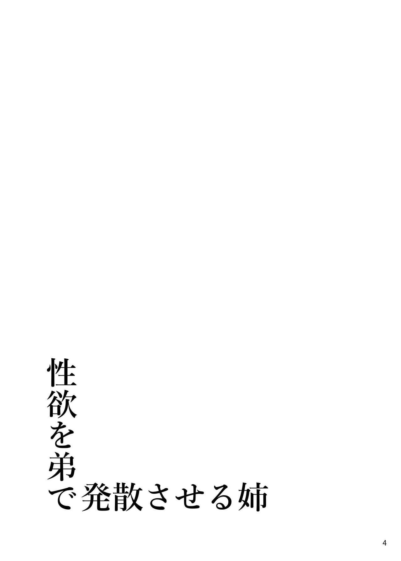 Seiyoku o Otouto de Hassan Saseru Ane | 拿弟弟发泄性欲的美波姐 4