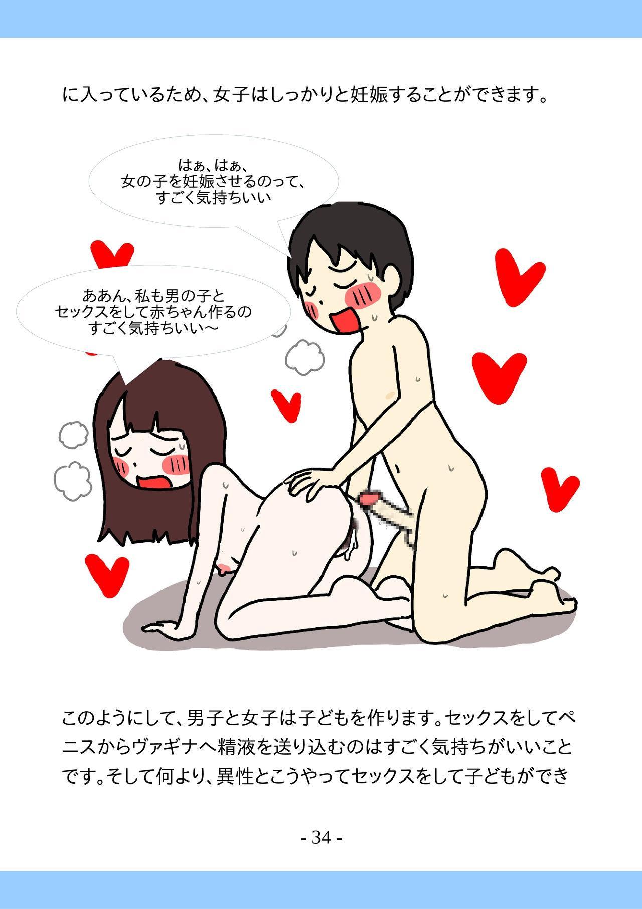 Shishunki no Tame no Tottemo Kimochii Sex no Ohanashi 33