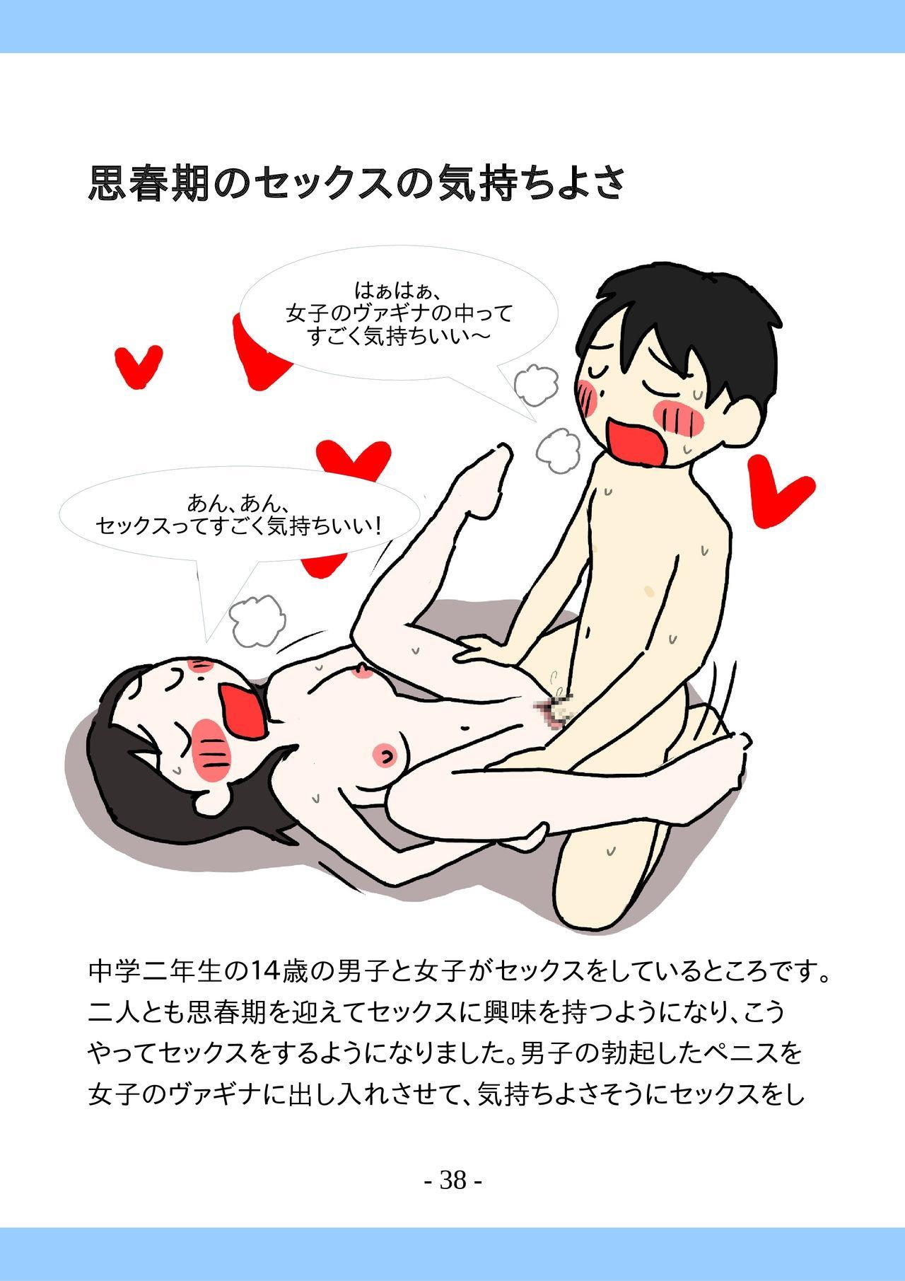 Shishunki no Tame no Tottemo Kimochii Sex no Ohanashi 37