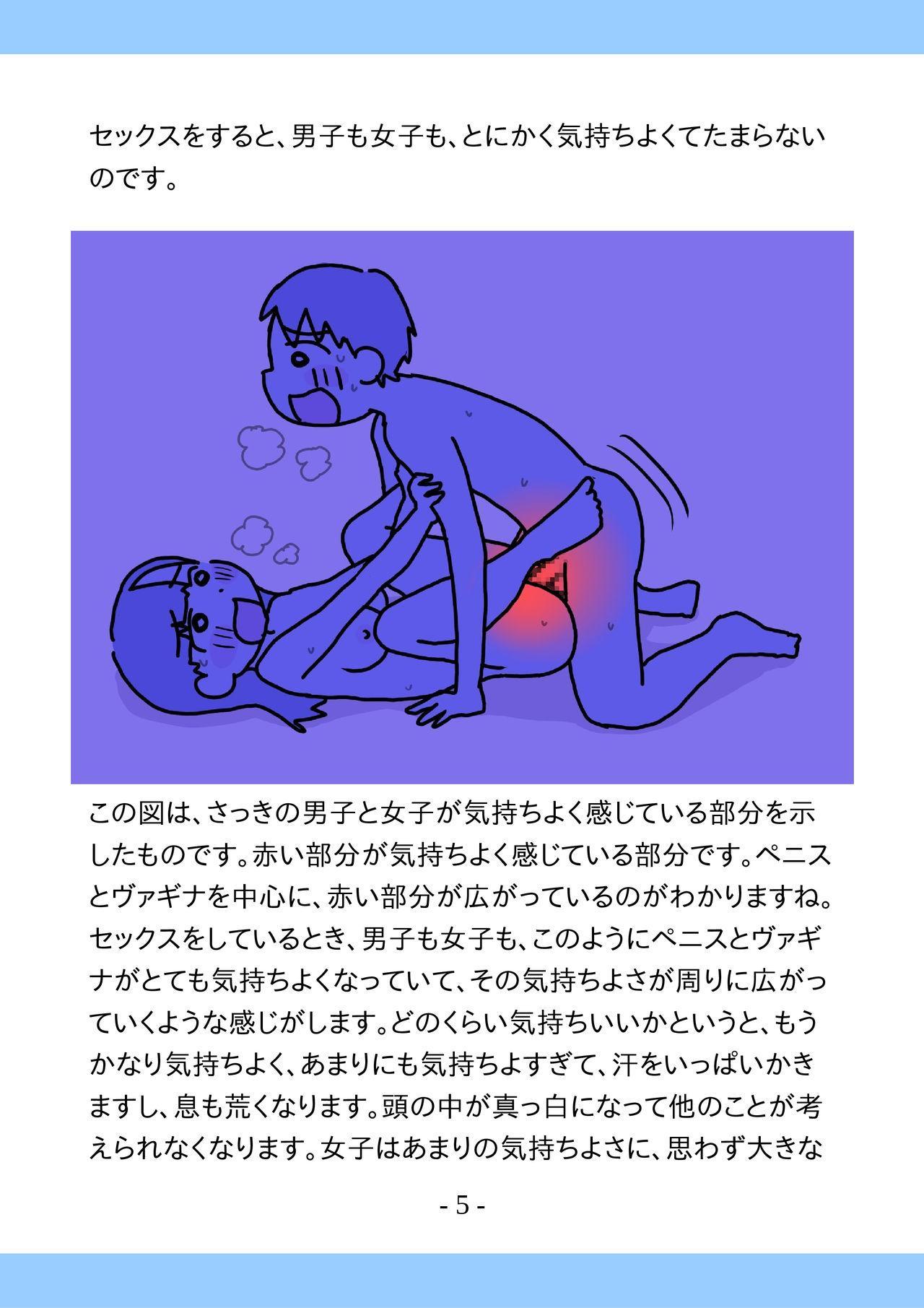 Shishunki no Tame no Tottemo Kimochii Sex no Ohanashi 4