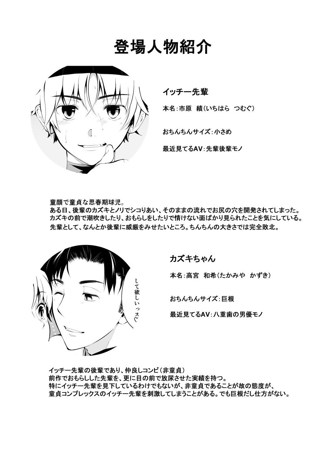 Shishunki Kyuuji nan Dakara Hokenshitsu demo Ecchi Shitaissu 2