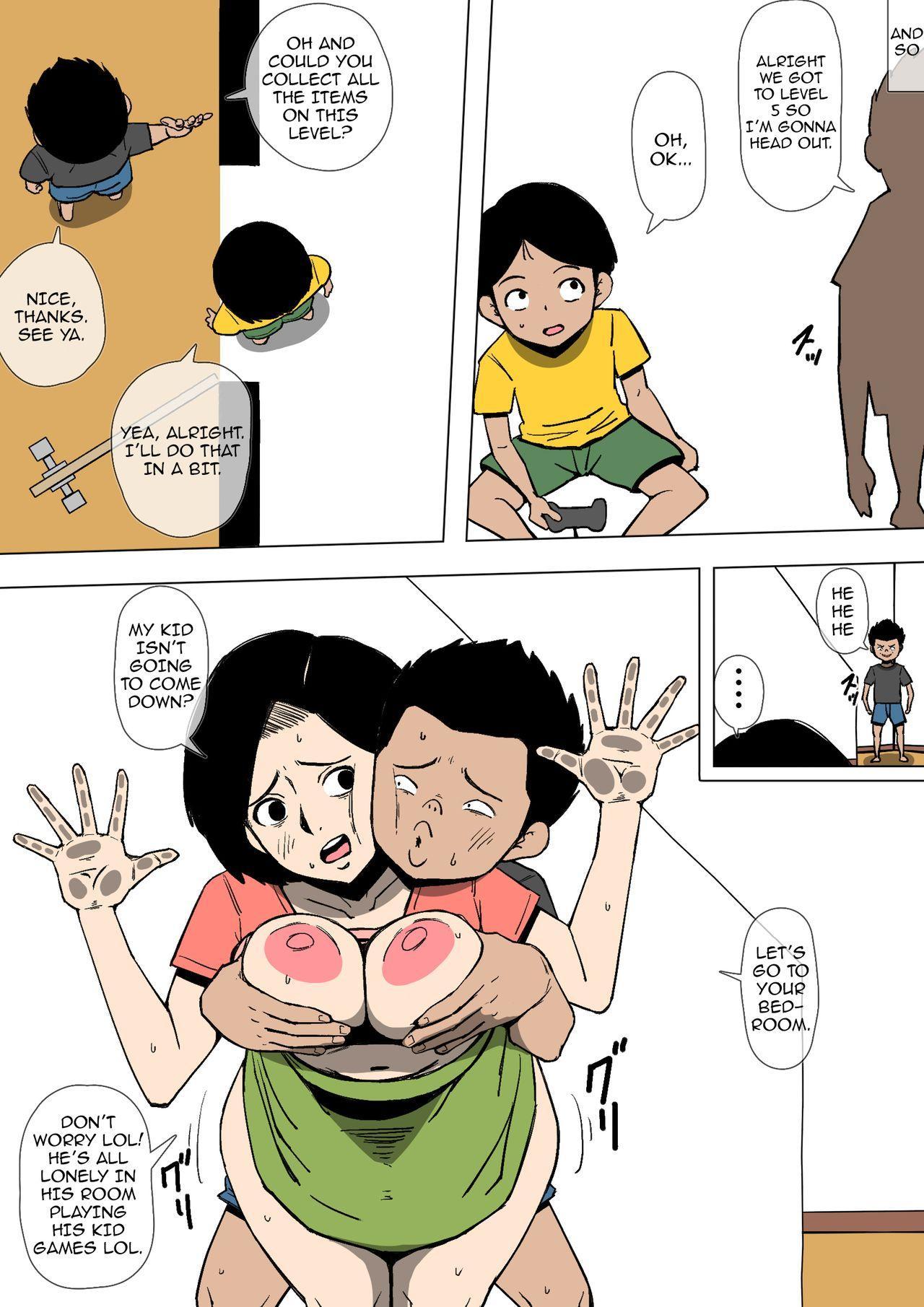 Okaa-san to Class no Yarichin ga   Mom and the Playboy Classmate 20