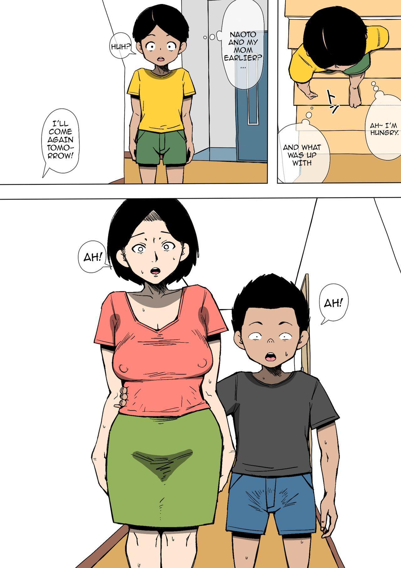 Okaa-san to Class no Yarichin ga   Mom and the Playboy Classmate 22