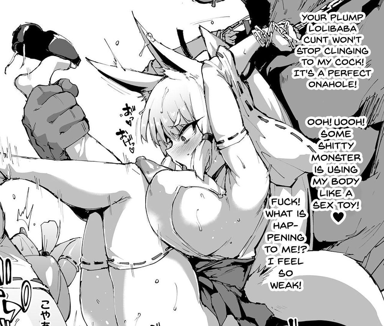 Kurokami Ponytail Tsurime JK Taimabu Rakugaki | Exorcism Club for Black Haired Girls with Ponytails 9