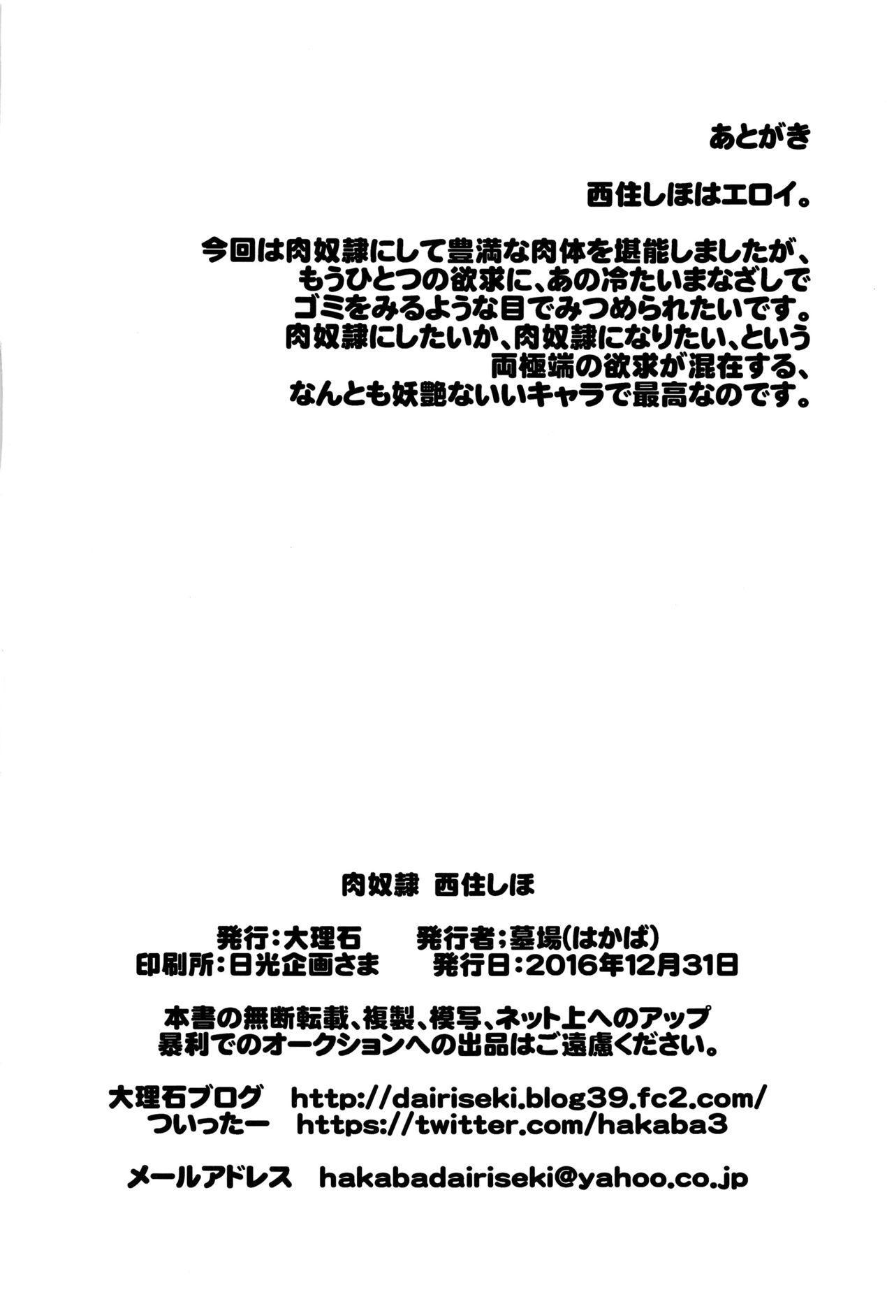 Nikudorei Nishizumi Shiho 27