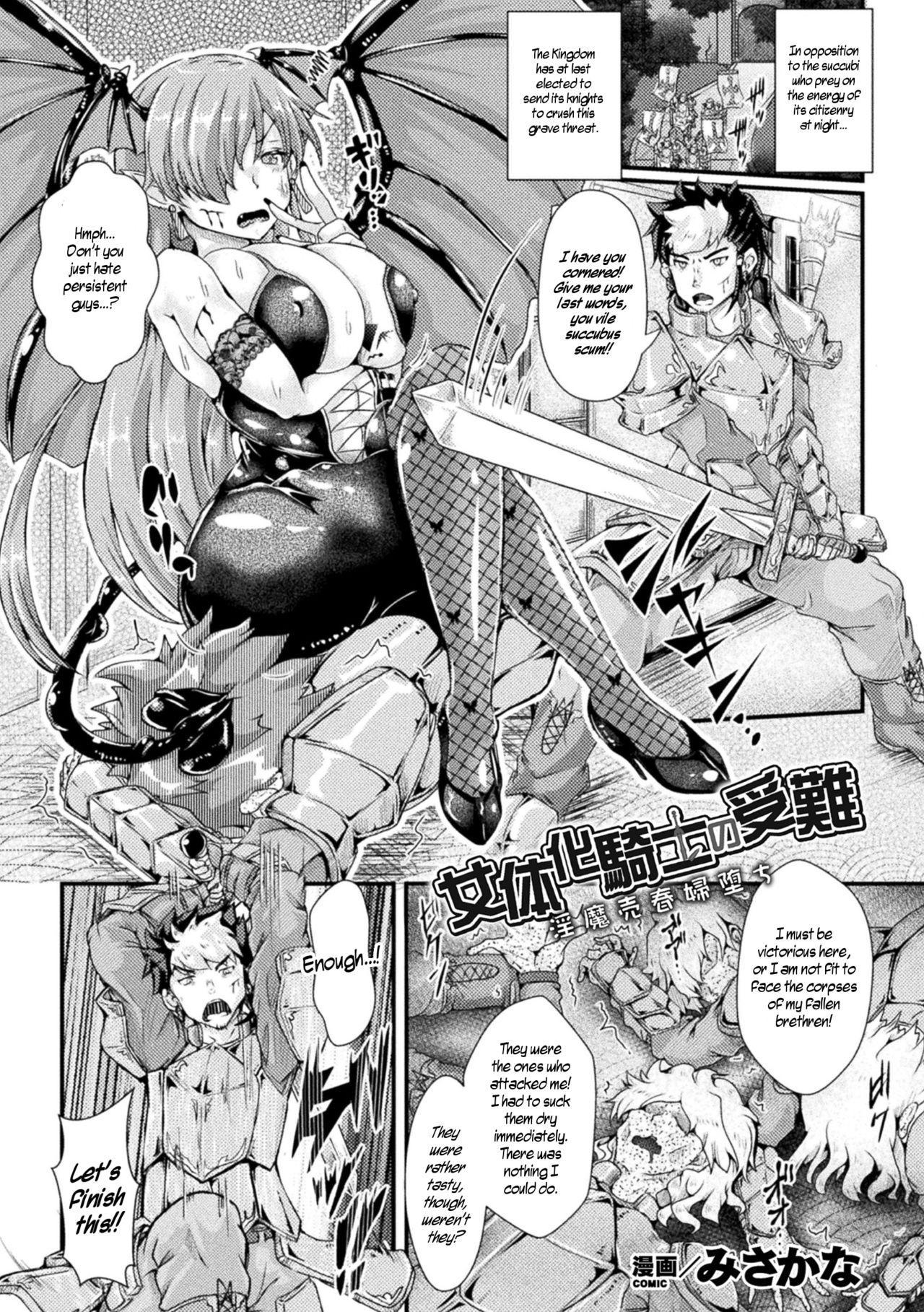 Nyotaika Kishi no Junan Inma Baishunfu Ochi   The Passion of the Feminized Knight/Fallen Succubus Whore 0