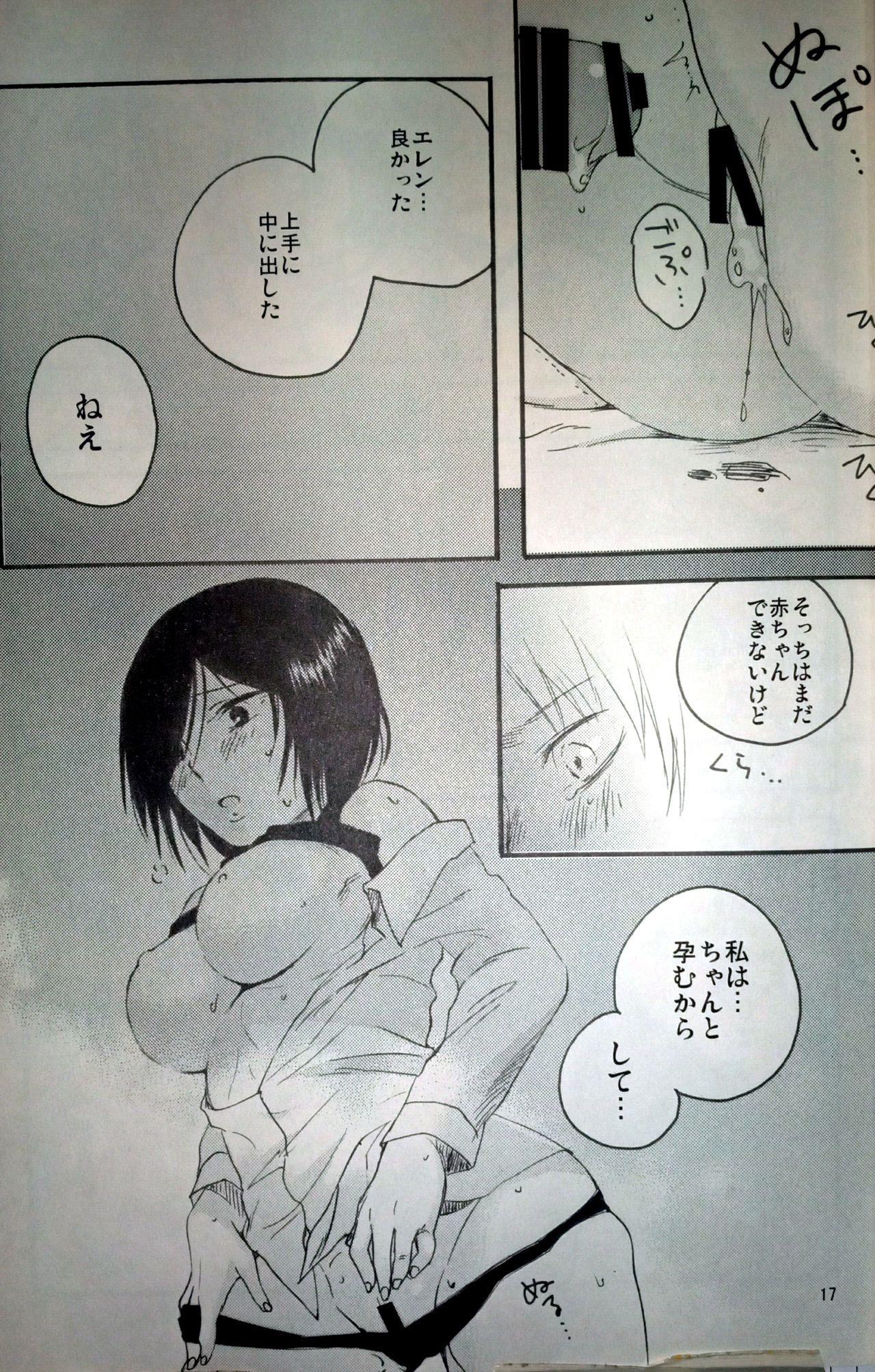 (C86) [iron (Kanae)] 21-sai to 9-sai no Mikasa ni Aisarete Yoru mo Nemurenai Eren no Hanashi (Shingeki no Kyojin) 17