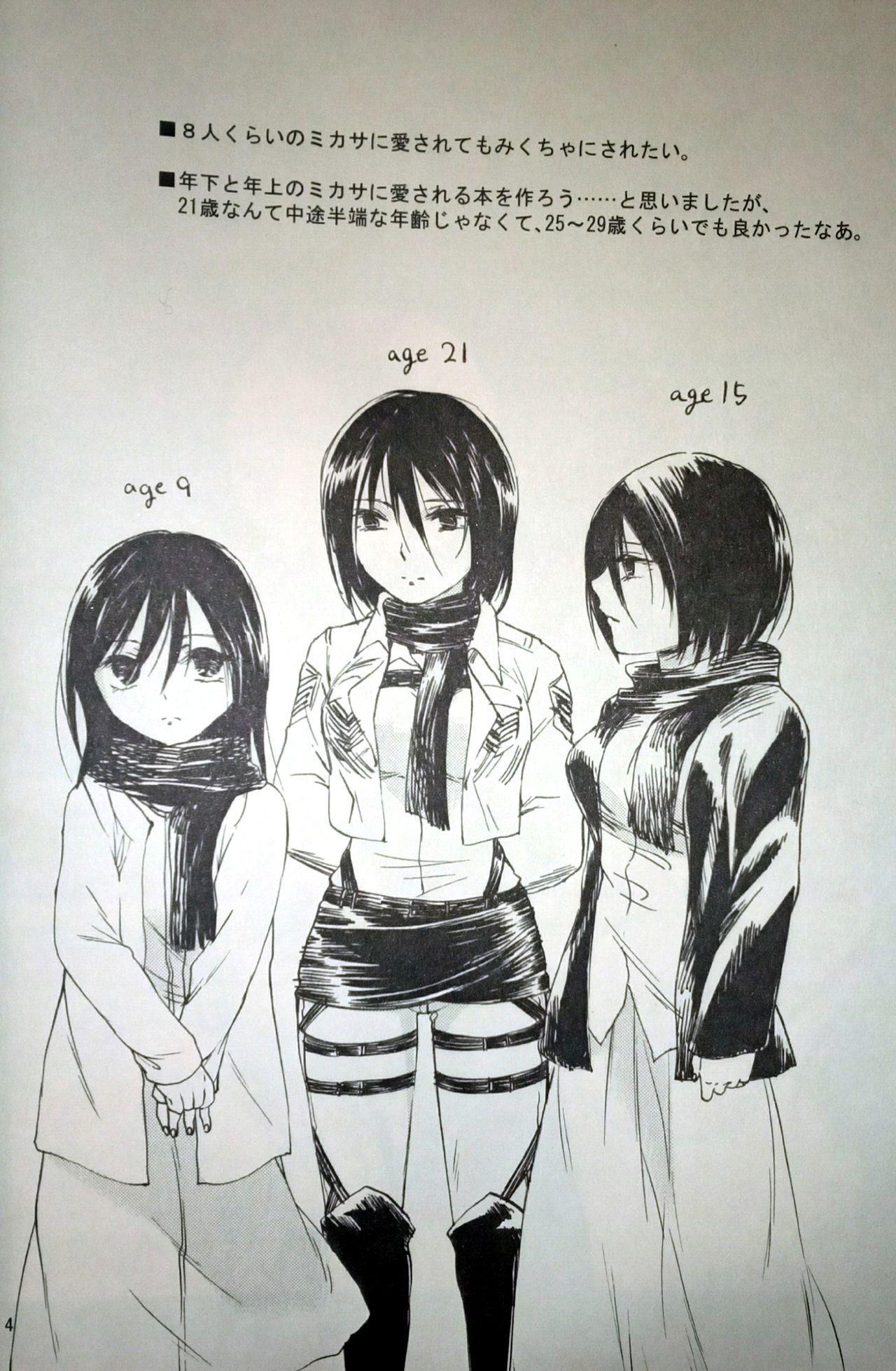 (C86) [iron (Kanae)] 21-sai to 9-sai no Mikasa ni Aisarete Yoru mo Nemurenai Eren no Hanashi (Shingeki no Kyojin) 4