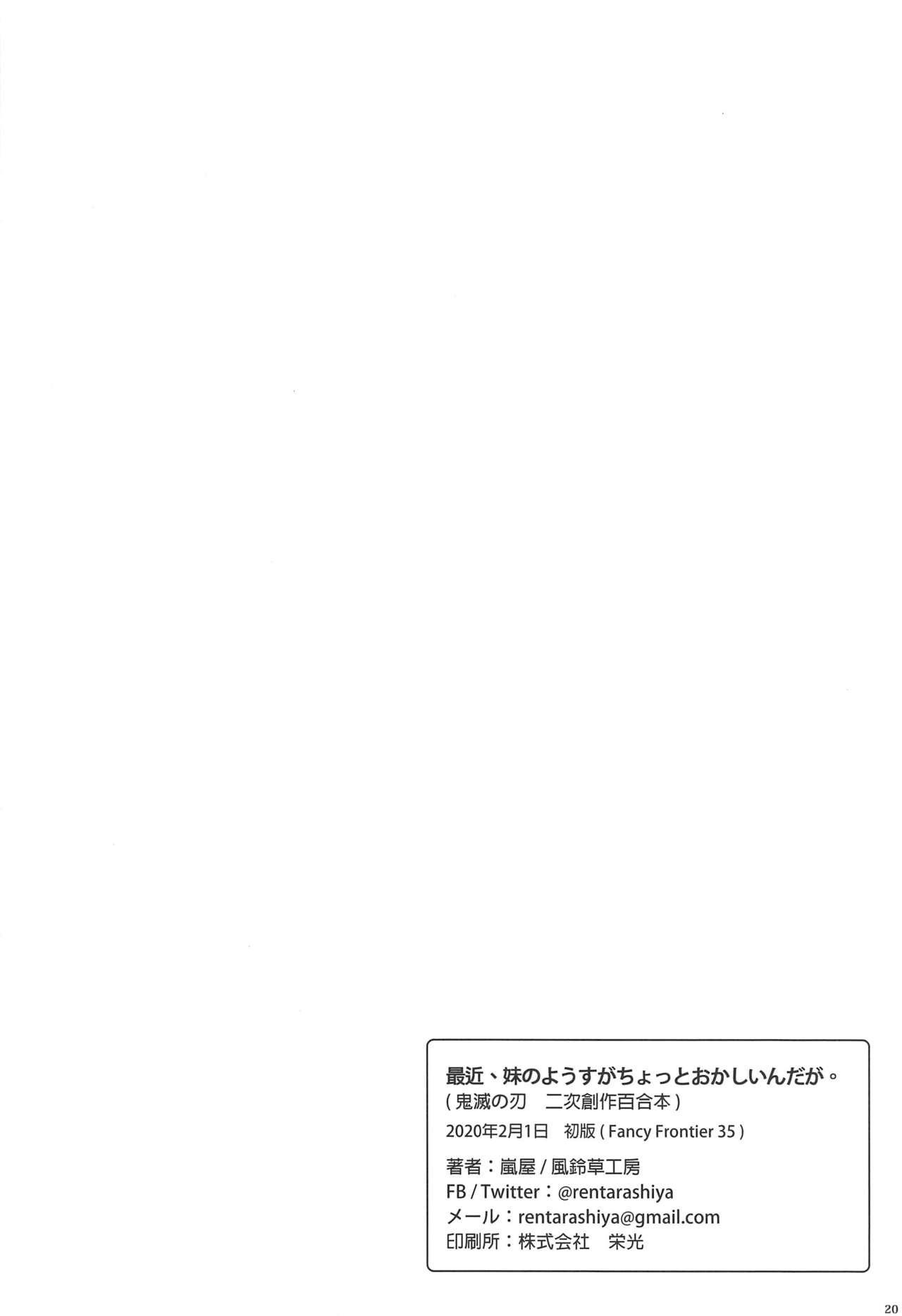 Saikin, Imouto no Yousu ga Chotto Okashiin daga. 20
