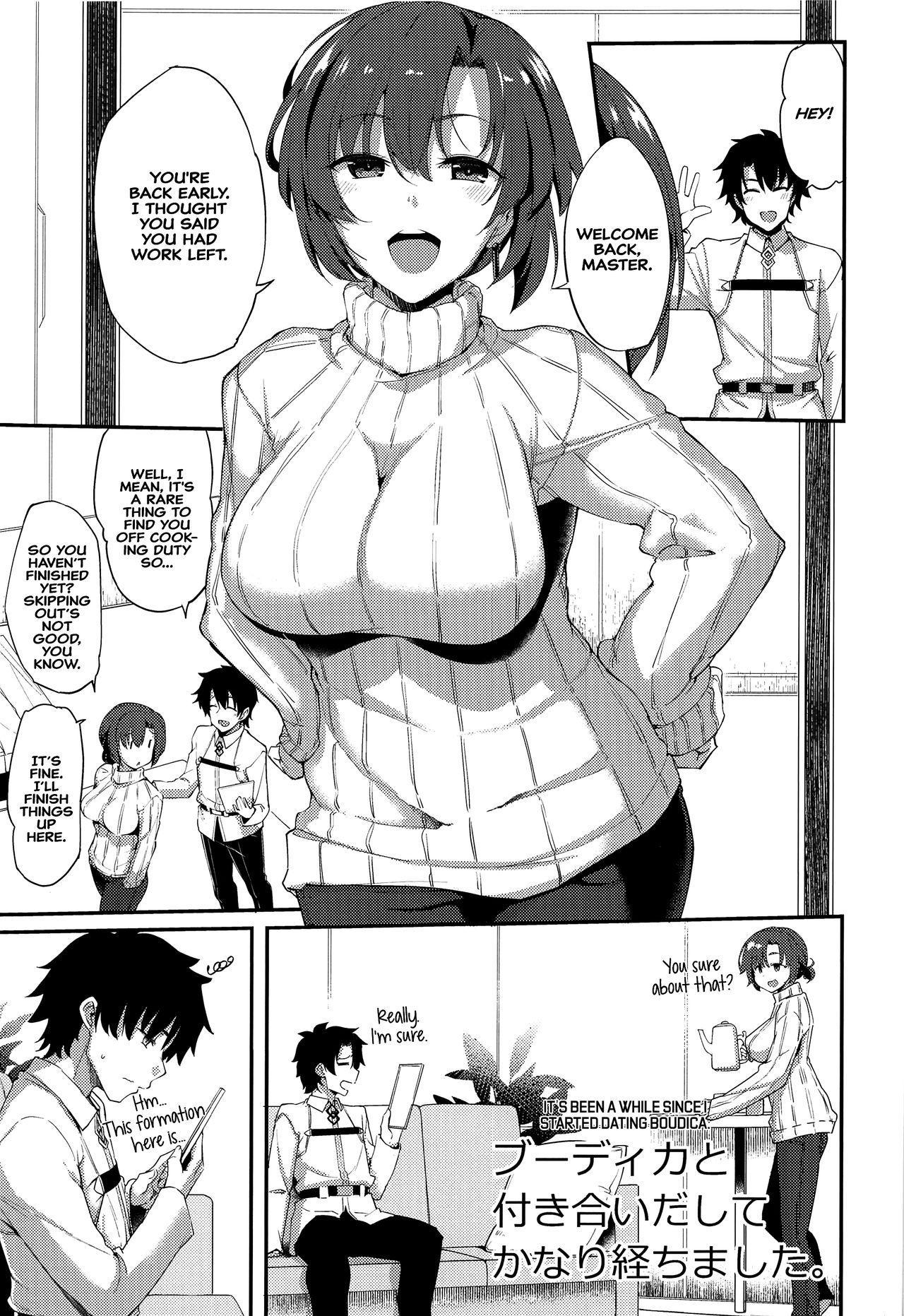 Boudica to Tsukiaidashite Kekkou Tachimashita.   It's Been A While Since I Started Dating Boudica. 1